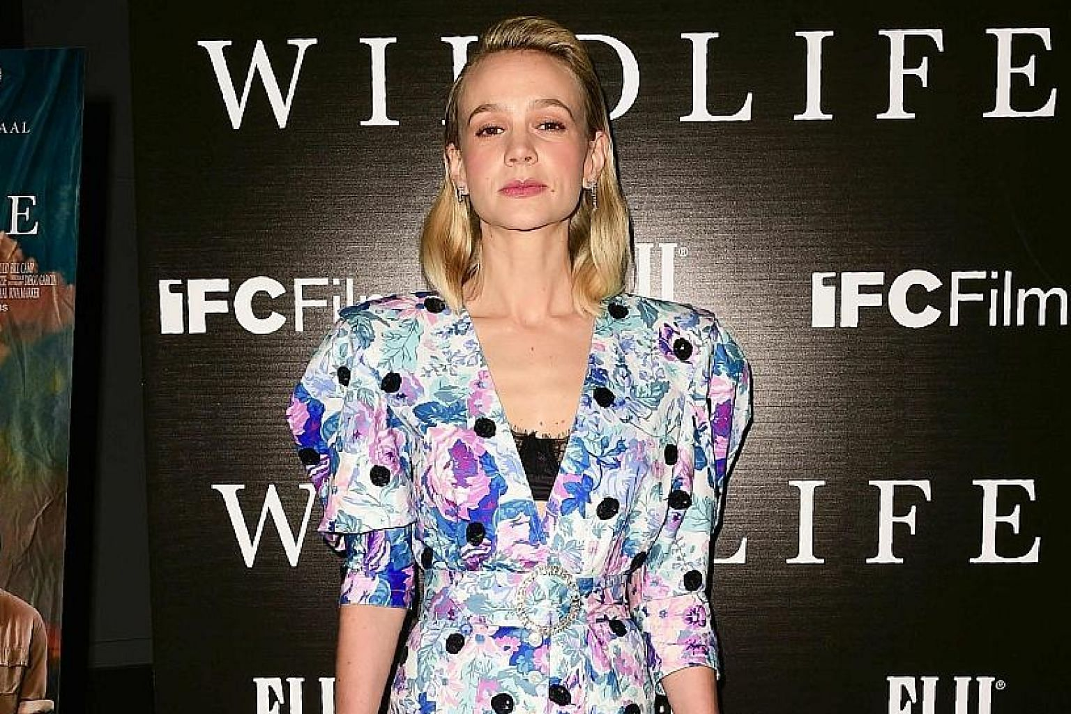 British actress Carey Mulligan says she had never been on a set with childcare facilities.