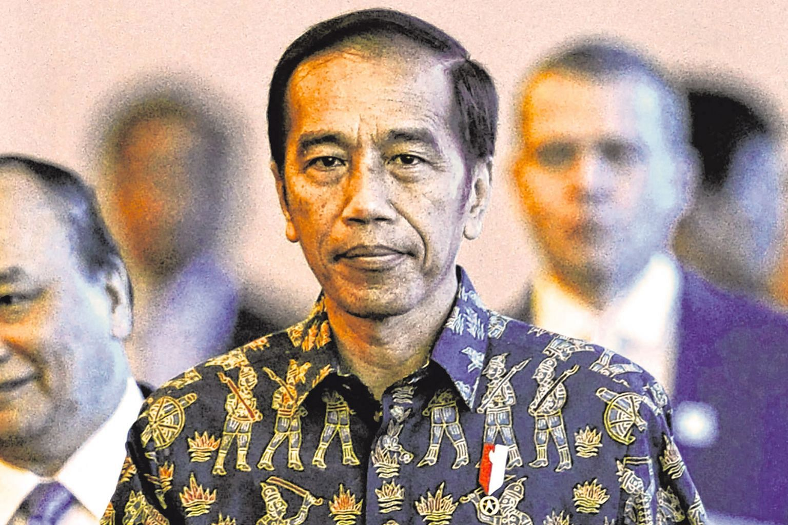 Indonesia's President Joko Widodo will be seeking a new mandate for a second term next April.