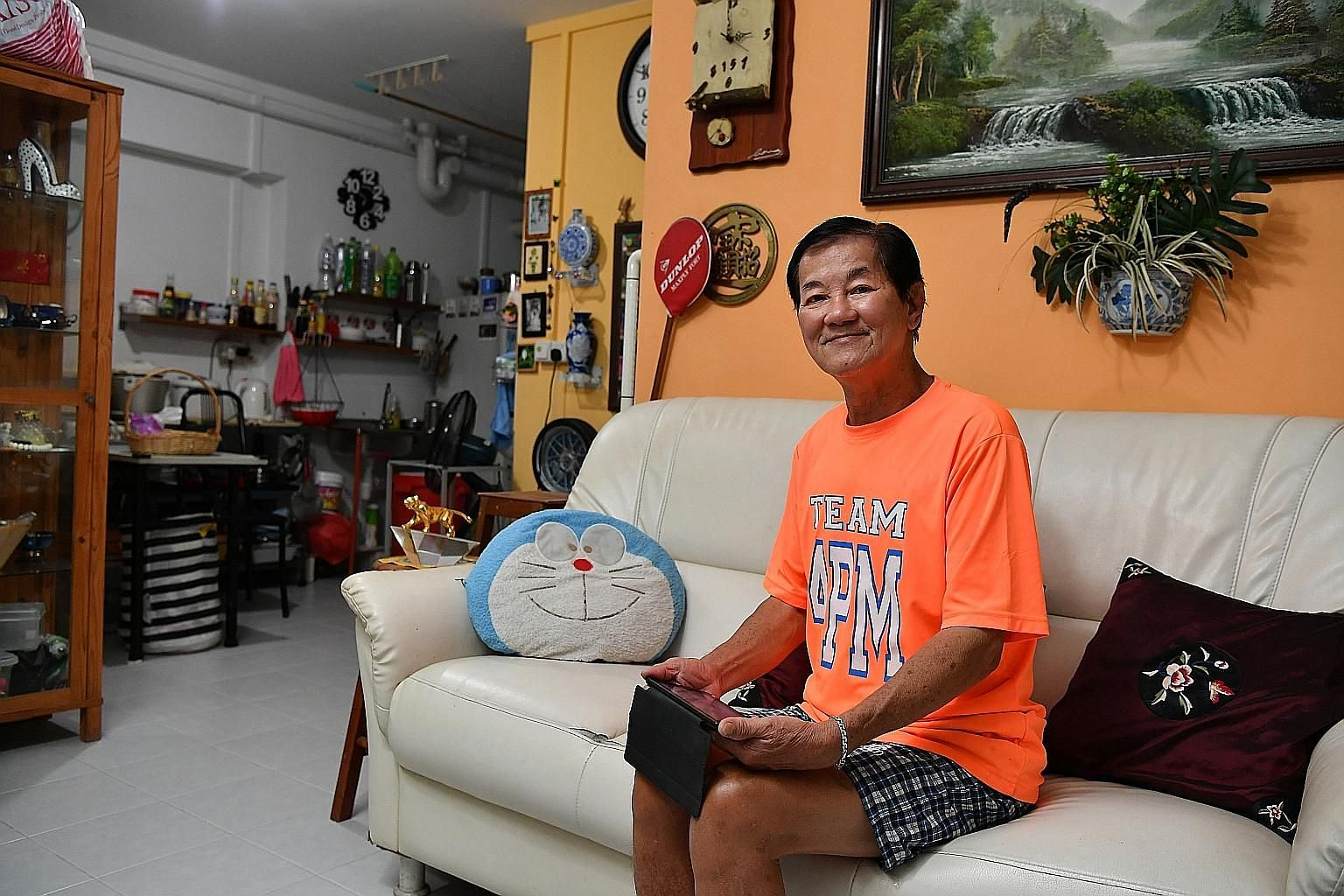 The ComCare Long-Term Assistance scheme gives Mr Henry Tan $500 every month, which he uses for his daily necessities and household bills. The scheme also pays for his medical bills. He also gets an additional $750 every three months under the Silver
