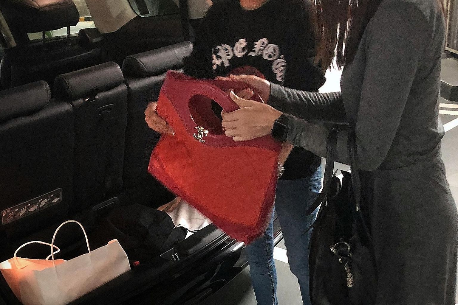 """The Sunday Times reporter being shown a """"Chanel 31"""" shopping bag for Fall/Winter 2018, which is sold for more than $5,000 at the boutique. But this counterfeit bag costs only $750. The touch and scent of the leather was like the real thing."""