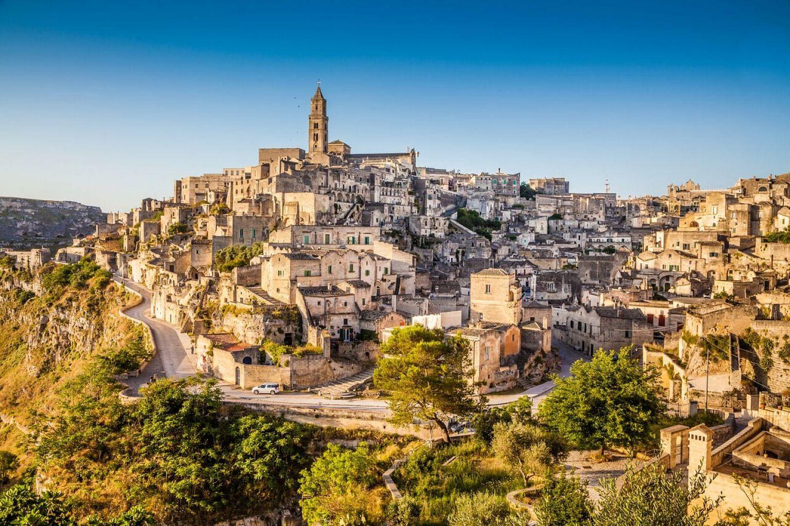 City of Matera, Italy