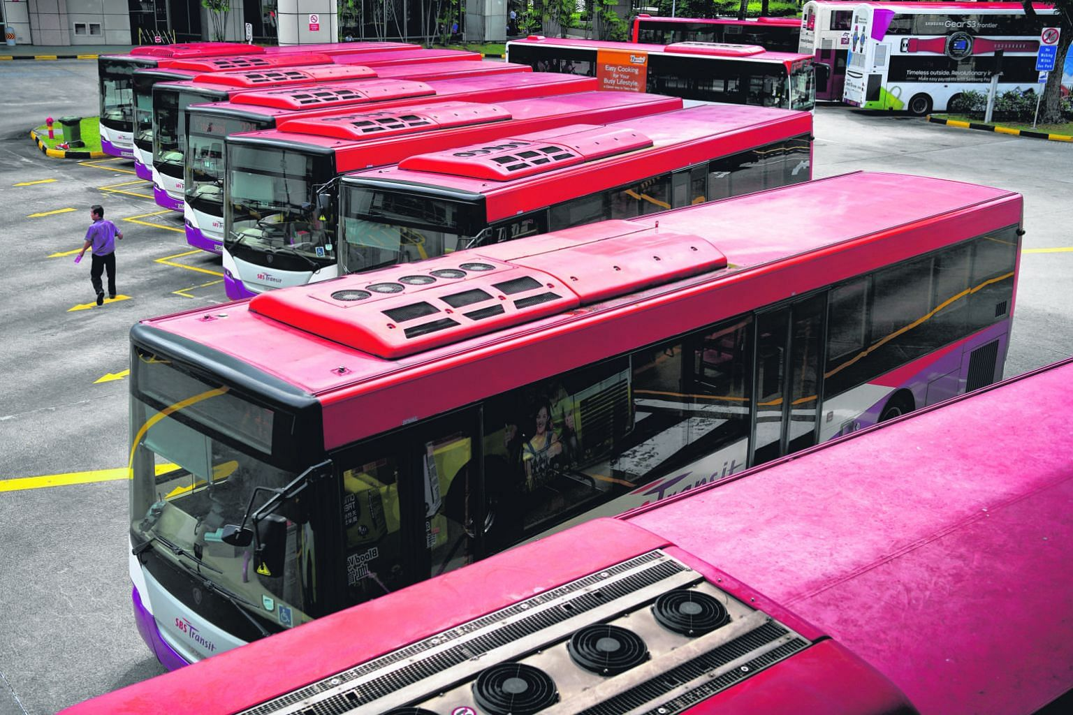 SBS Transit's third-quarter profit increased by 77.5 per cent to $19.7 million, while its revenue rose by 19.1 per cent to $351.4 million.