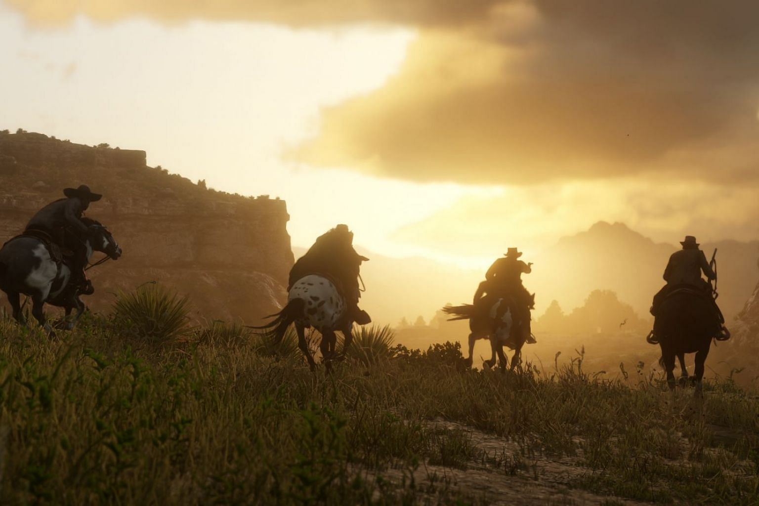 Riding off into the sunset is not an option for many of the colourful characters in Rockstar Games' epic Western action adventure game.