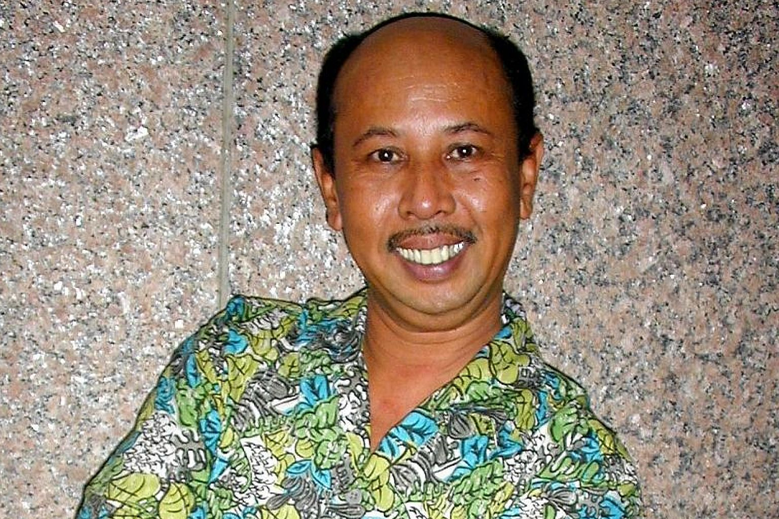Malaysian actor Zaibo was best known for portraying mee rebus seller Yusof in the 1990s sitcom, Under One Roof.