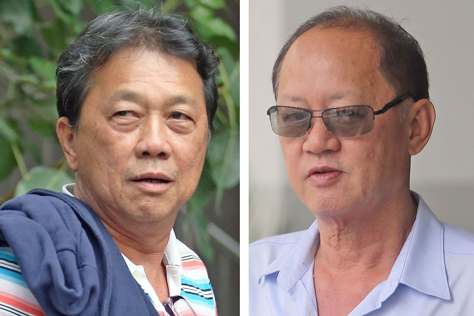 "Prosecution witness Tay Eng Chuan (left) said the $20,000 remittance arranged by his business partner Chia Sin Lan (below) was ""inappropriate"". It was sent to China for the mistress of a town council's former general manager."