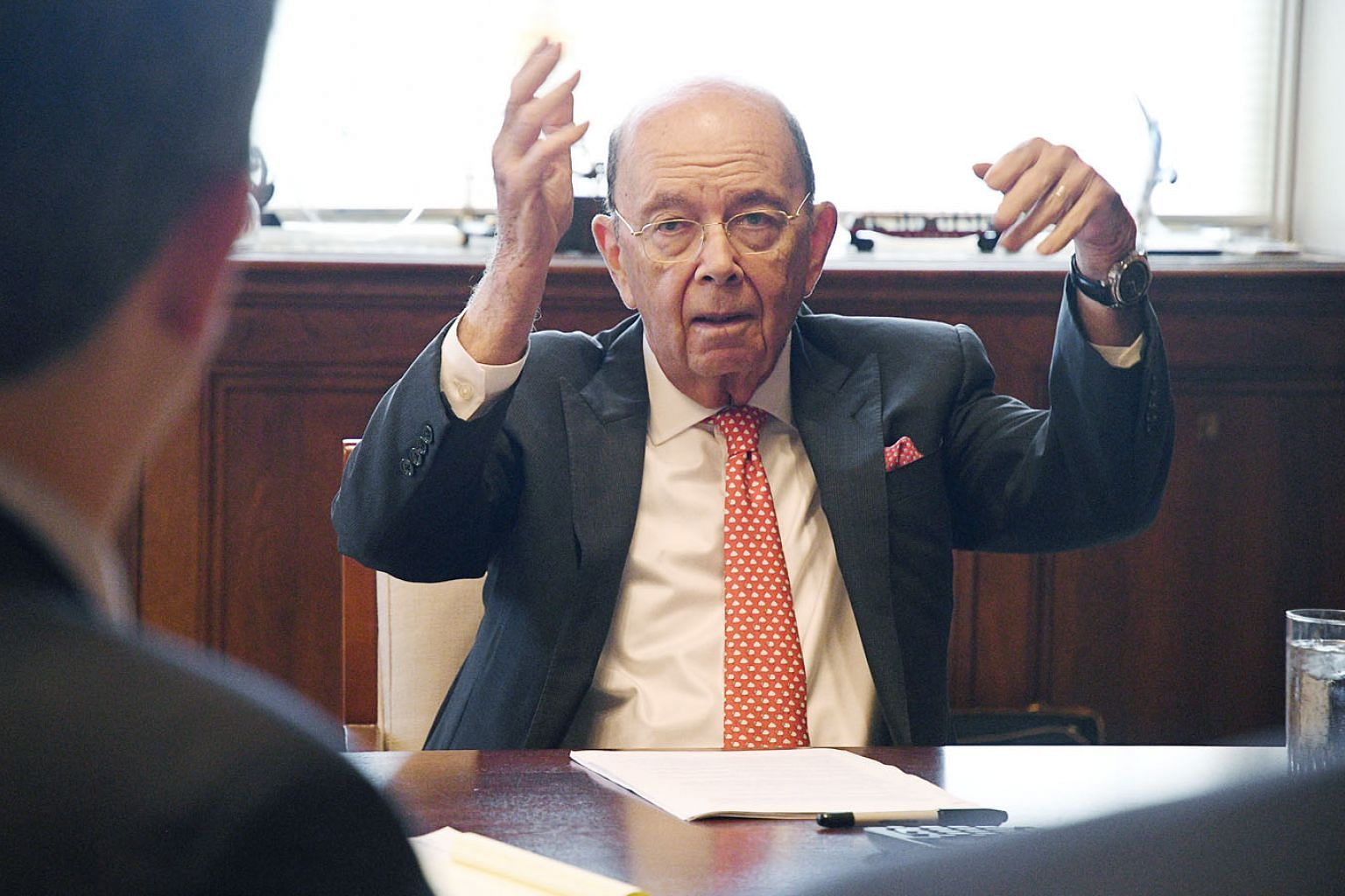 US Commerce Secretary Wilbur Ross says a meeting between US President Donald Trump and Chinese President Xi Jinping on the sidelines of the G-20 summit will set the framework for further talks to resolve trade issues.