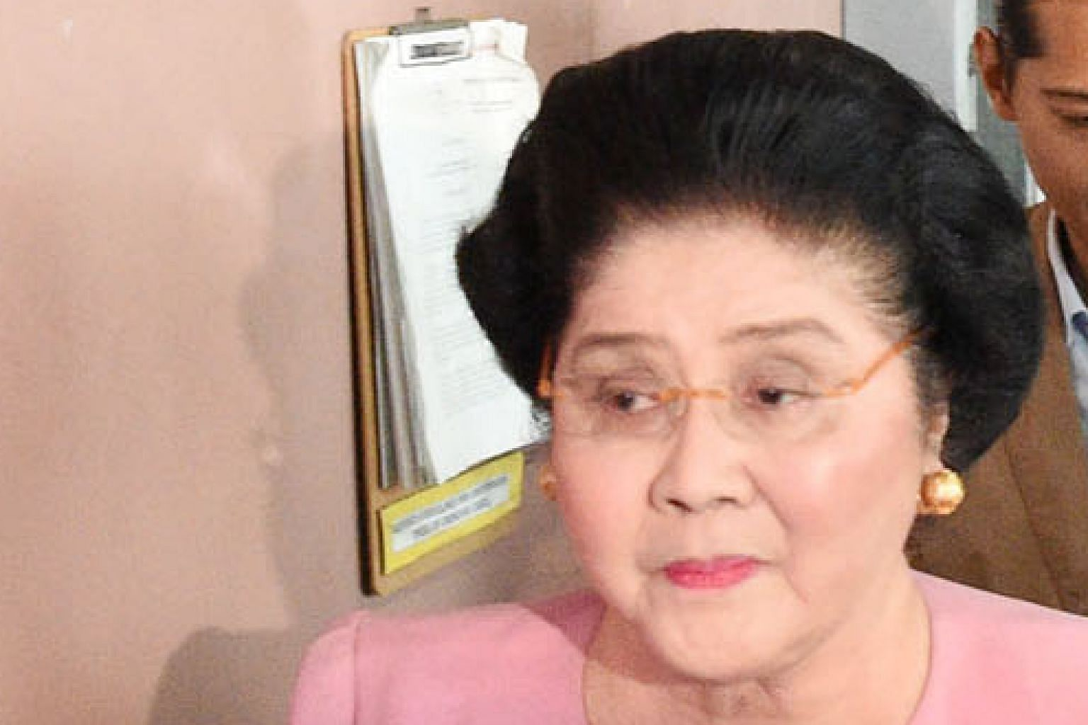 Imelda Marcos was granted bail a week after being found guilty in absentia.