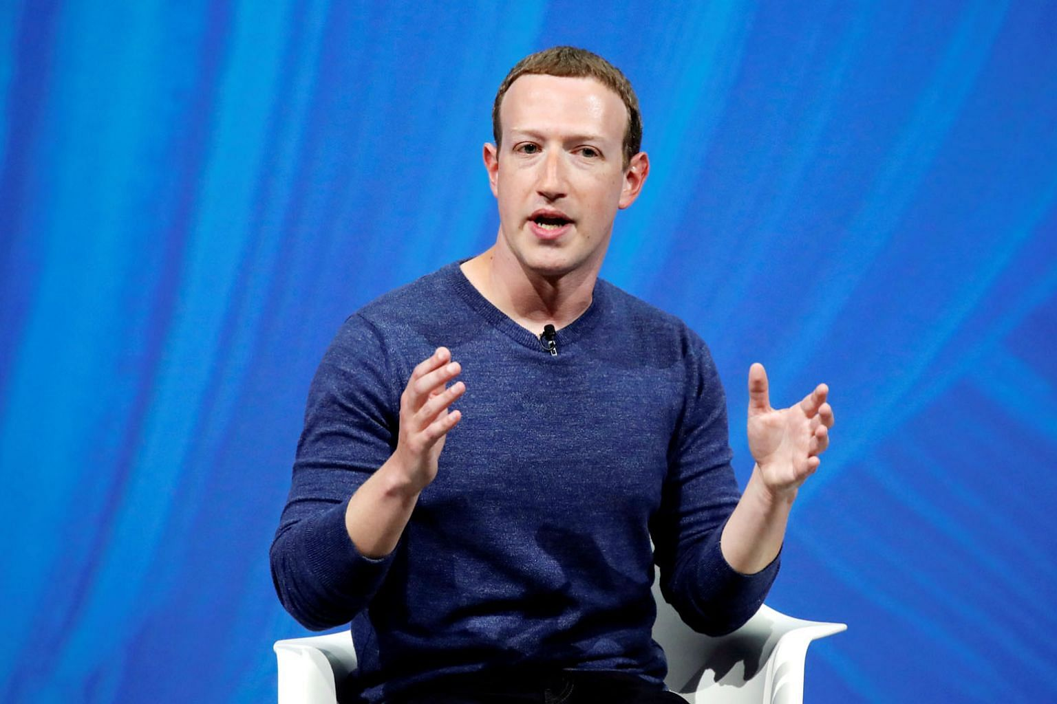 """Mr Mark Zuckerberg says he has acted swiftly to combat the Russian challenge, and that he supports regulation that would encourage companies to reduce the prevalence of """"harmful content""""."""