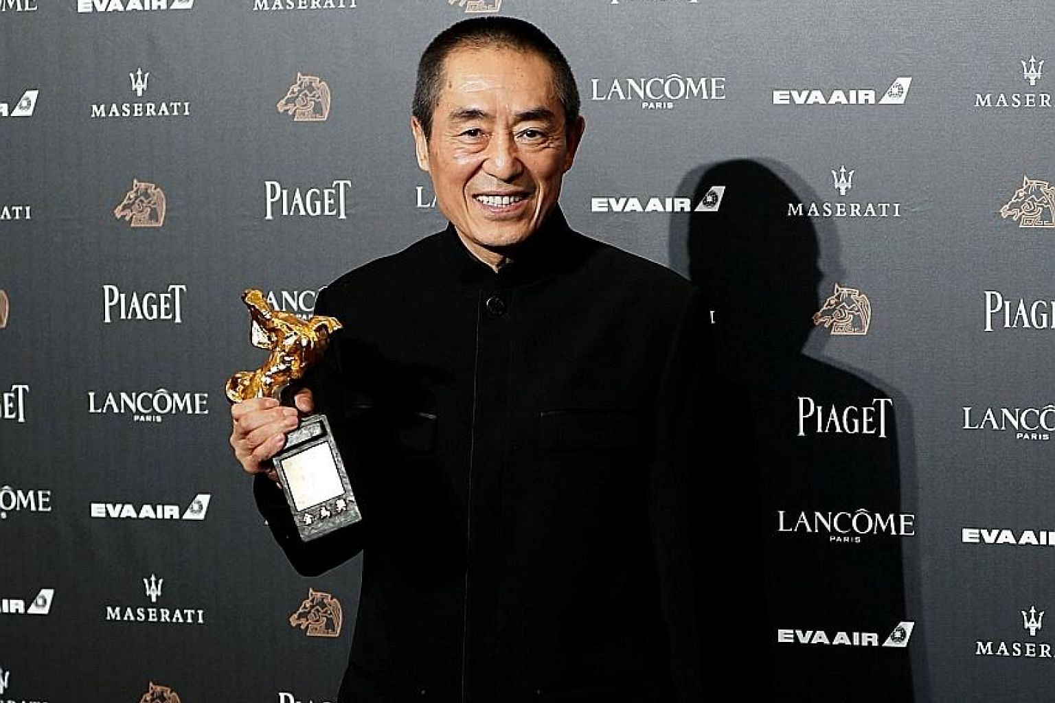 Chinese director Zhang Yimou's Golden Horse Award for Best Director, for Shadow, is the first in his decades-long career - and, remarkably, is also his first nomination for Best Director.