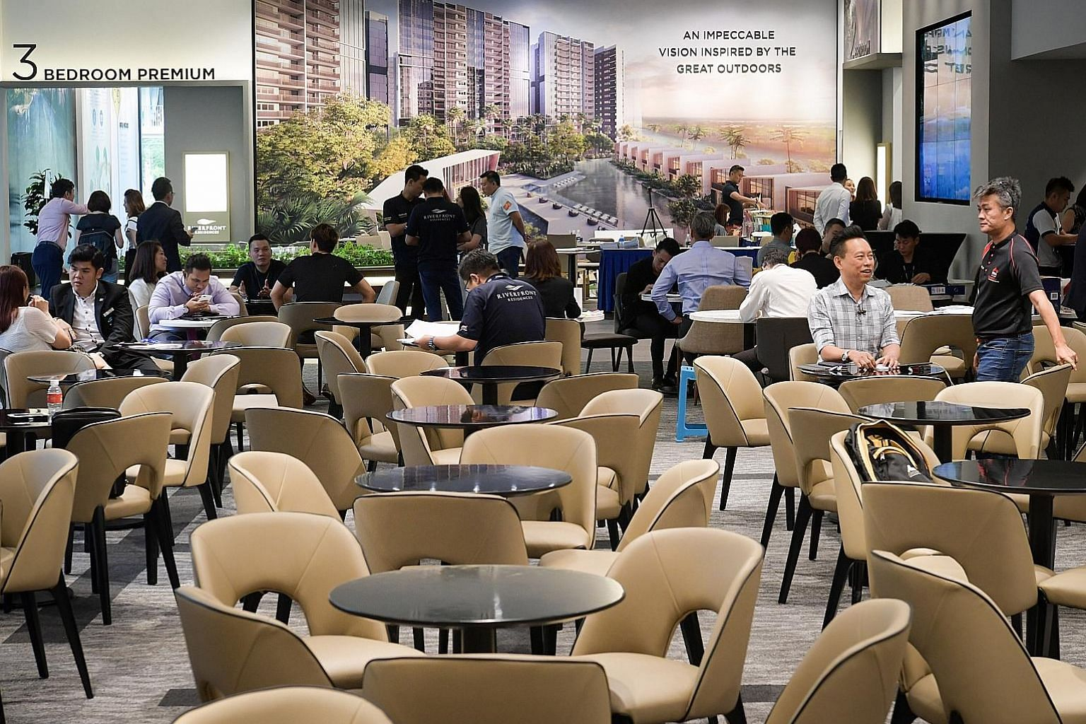 Household debt grew 3 per cent year-on-year in the third quarter, mainly on the back of a 3.4 per cent increase in housing loans in the same period, MAS said.