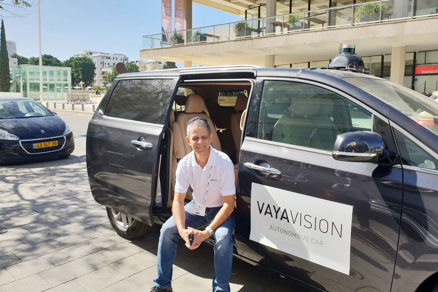 Mr Ronny Cohen, co-founder and chief executive of VayaVision, an Israeli firm pushing autonomous technology forward. It has developed a system offering precise 3D imaging of the environment around a vehicle.