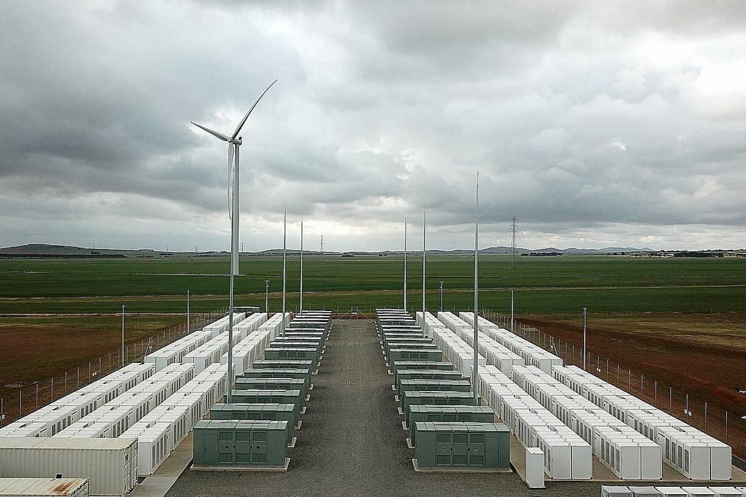 Following the September 2016 blackout, Tesla won the contract to construct the world's biggest lithium-ion battery. The 100MW battery farm can power more than 30,000 homes.