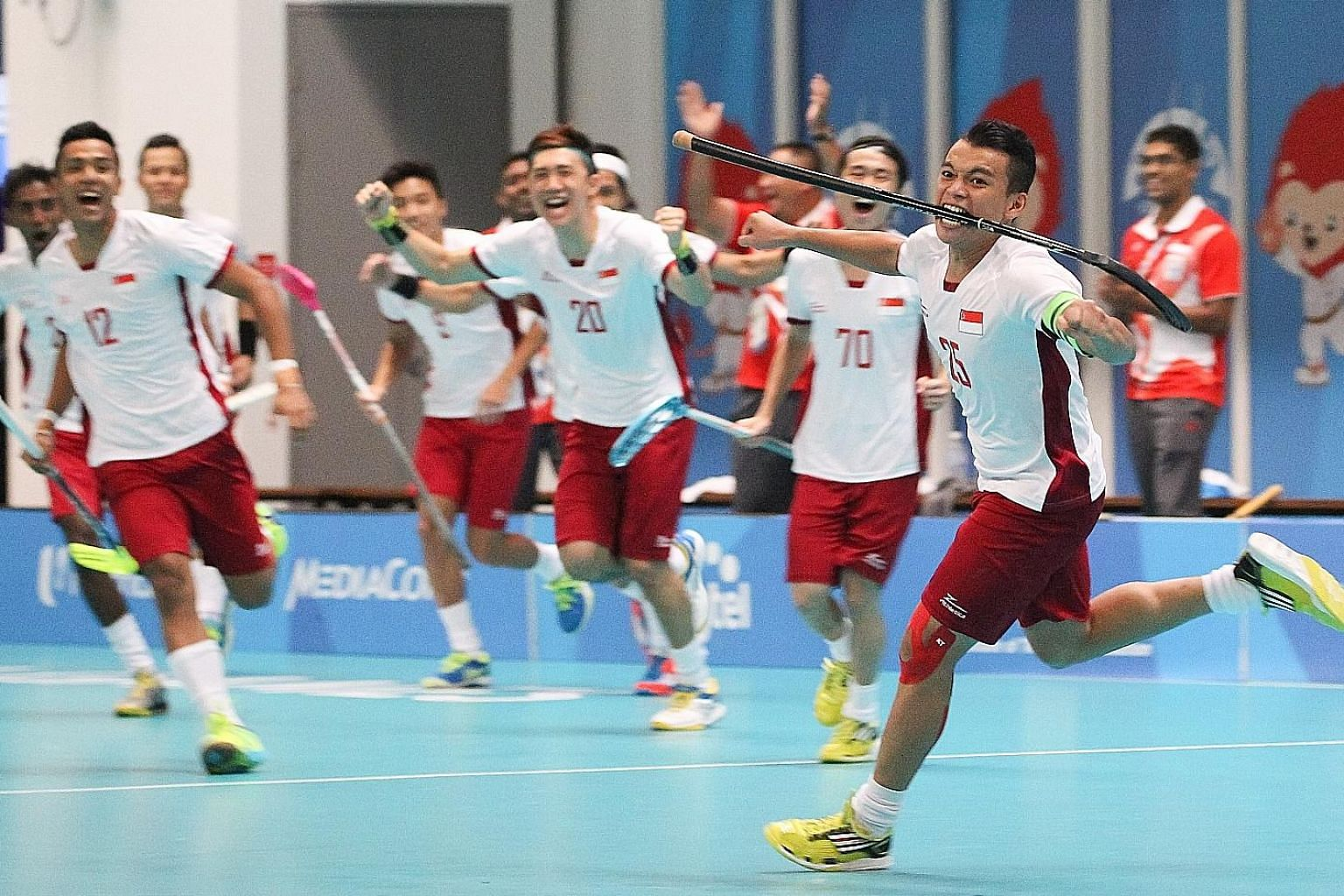 Floorball is among the sports in the record 56 confirmed for the 2019 SEA Games following a SEA Games Federation meeting yesterday. It last featured at the 2015 Games when Singapore won both golds.