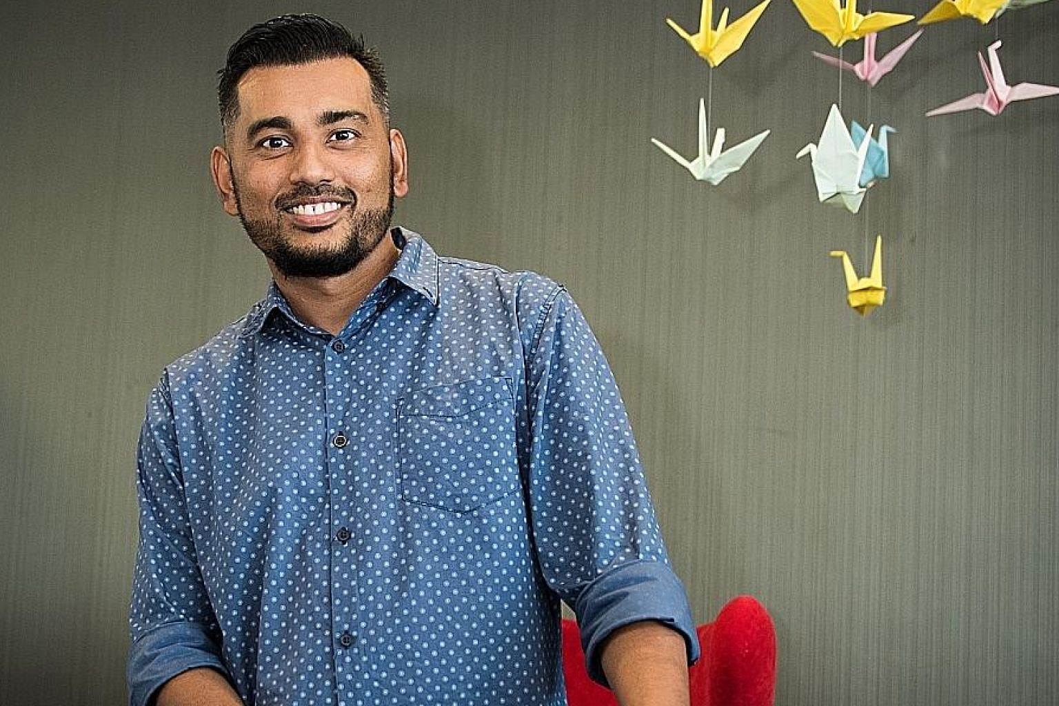 Mr Mohamed Rezal Yusof collapsed after his second heart attack in 2015 and was fitted with a left ventricular assist device as a bridge to transplant. He underwent a successful 11-hour heart transplant last year.