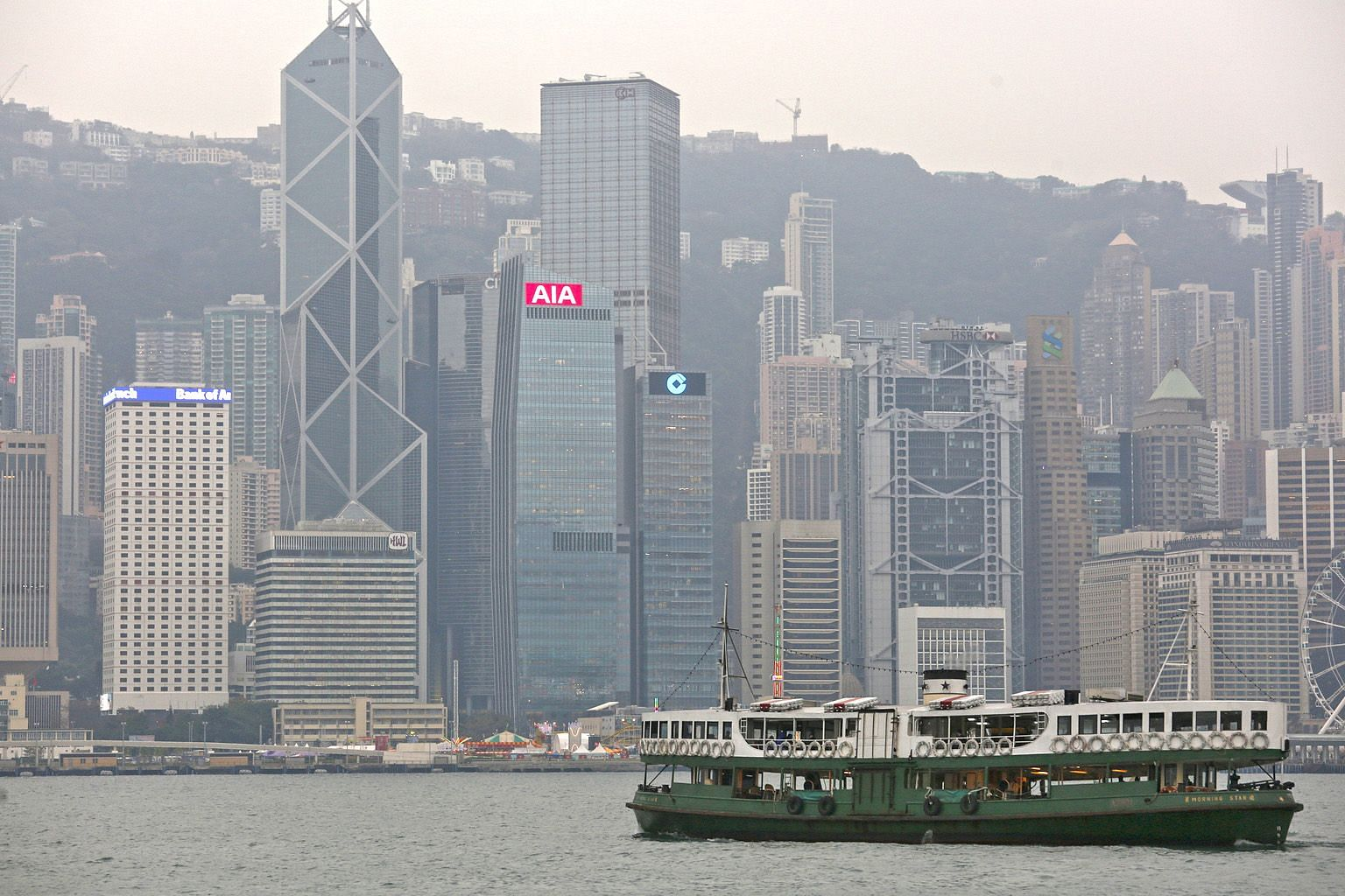 Hong Kong's financial institutions are no longer considered juicy targets by mainland Chinese buyers who have all but disappeared this year.