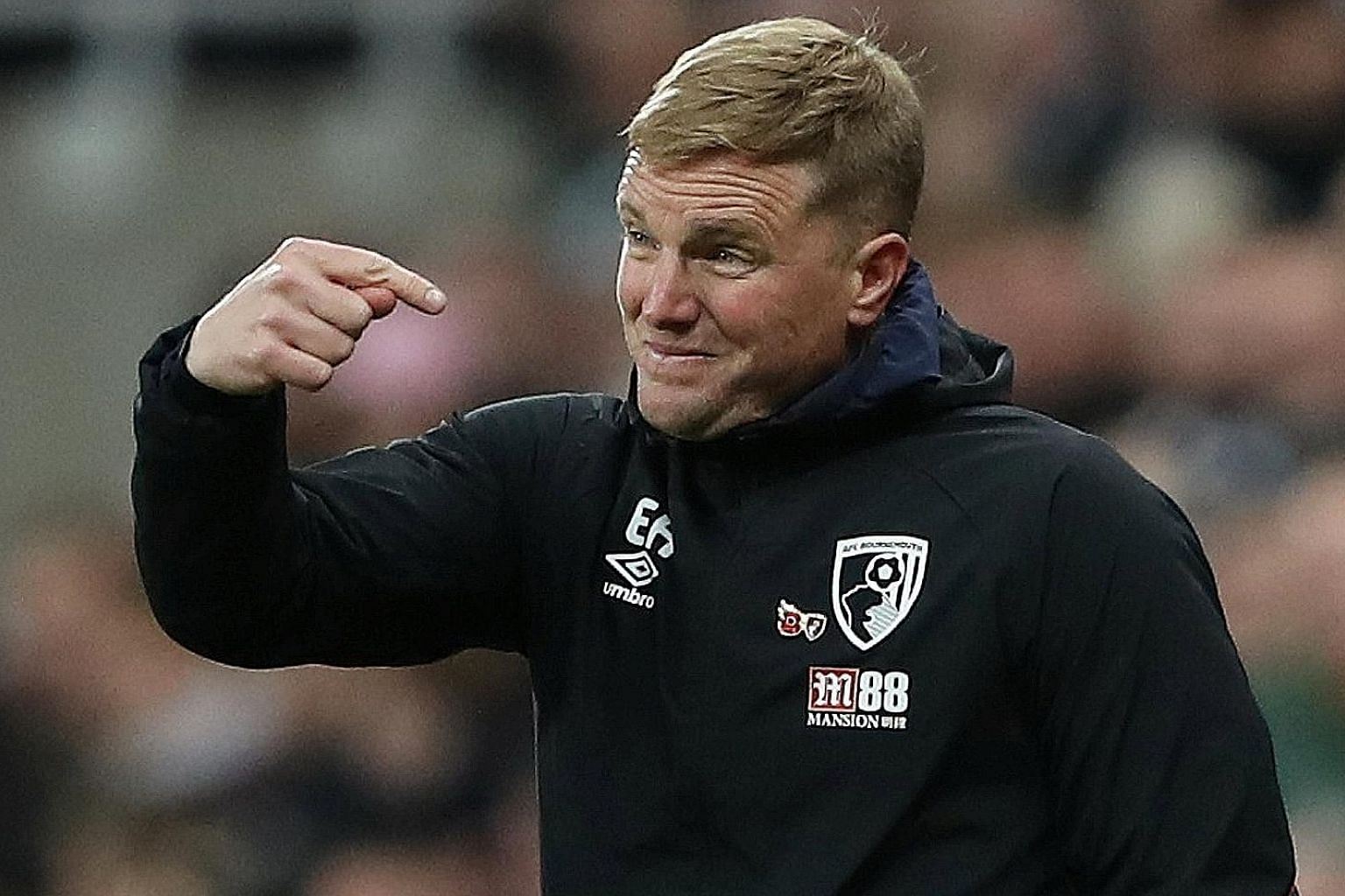 Manager Eddie Howe has led Bournemouth, who are eighth, to historic wins over Arsenal, Chelsea, Liverpool and United in recent years.