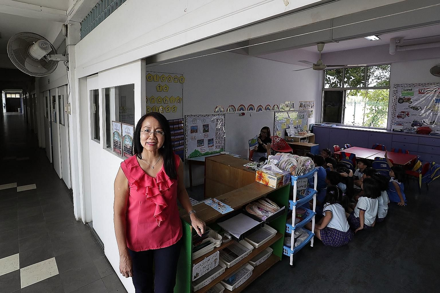Mrs Agnes Chee, principal of New Life Kindergarten, said her centre introduced enrichment activities over the past five years and launched a robotics and coding class this year.