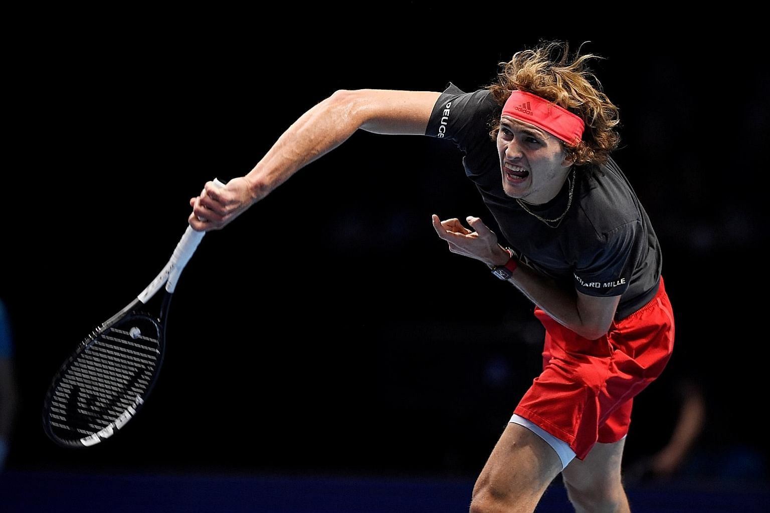 Alexander Zverev served notice of his talent by winning the ATP Finals, beating Roger Federer and Novak Djokovic along the way.