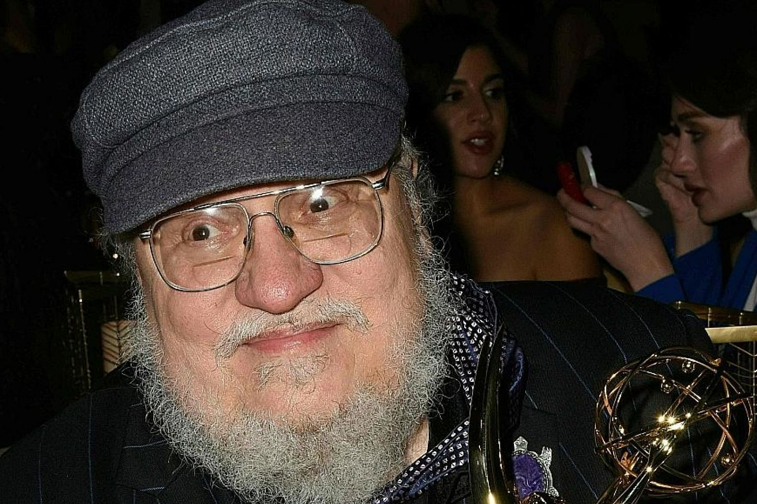 Novelist George R.R. Martin's A Song Of Ice And Fire series was adapted into HBO's Game Of Thrones.