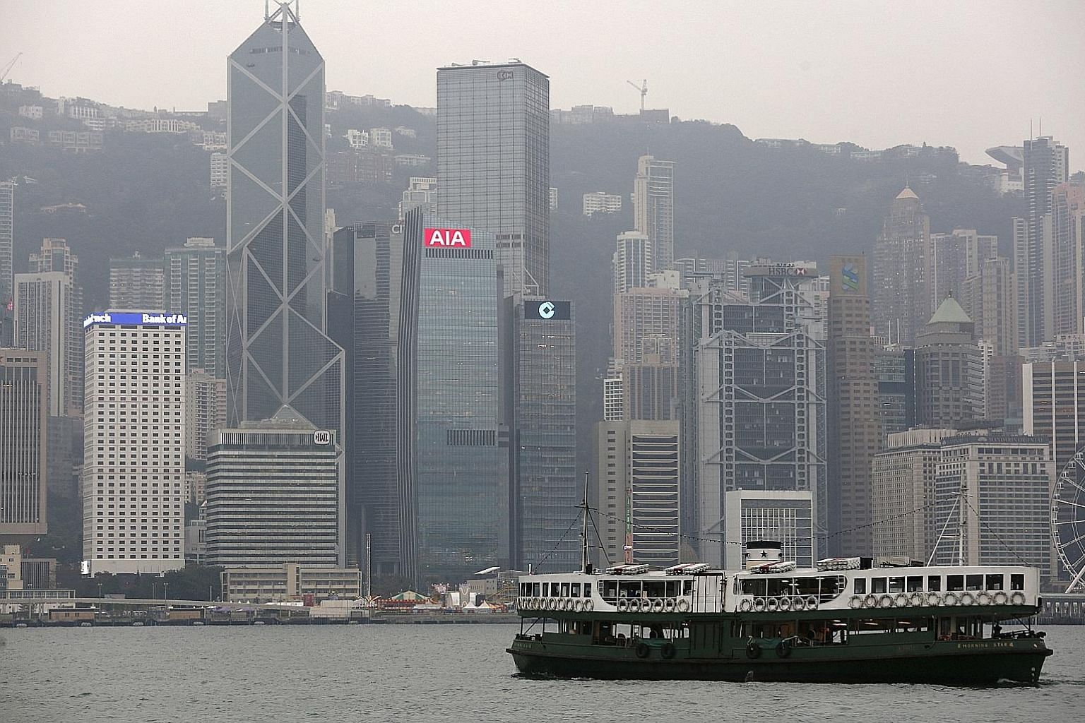 Hong Kong has been locked in a battle with Asian peers such as Singapore and Shanghai for the title of the region's premier financial centre.