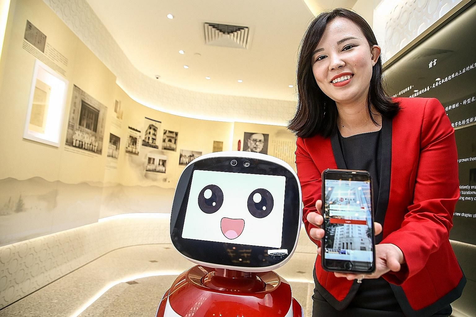 Bank of China's newly opened global fintech innovation lab in Singapore. Financial-market players of all stripes are increasingly using artificial intelligence (AI) and machine learning for applications ranging from customer interaction to regulatory