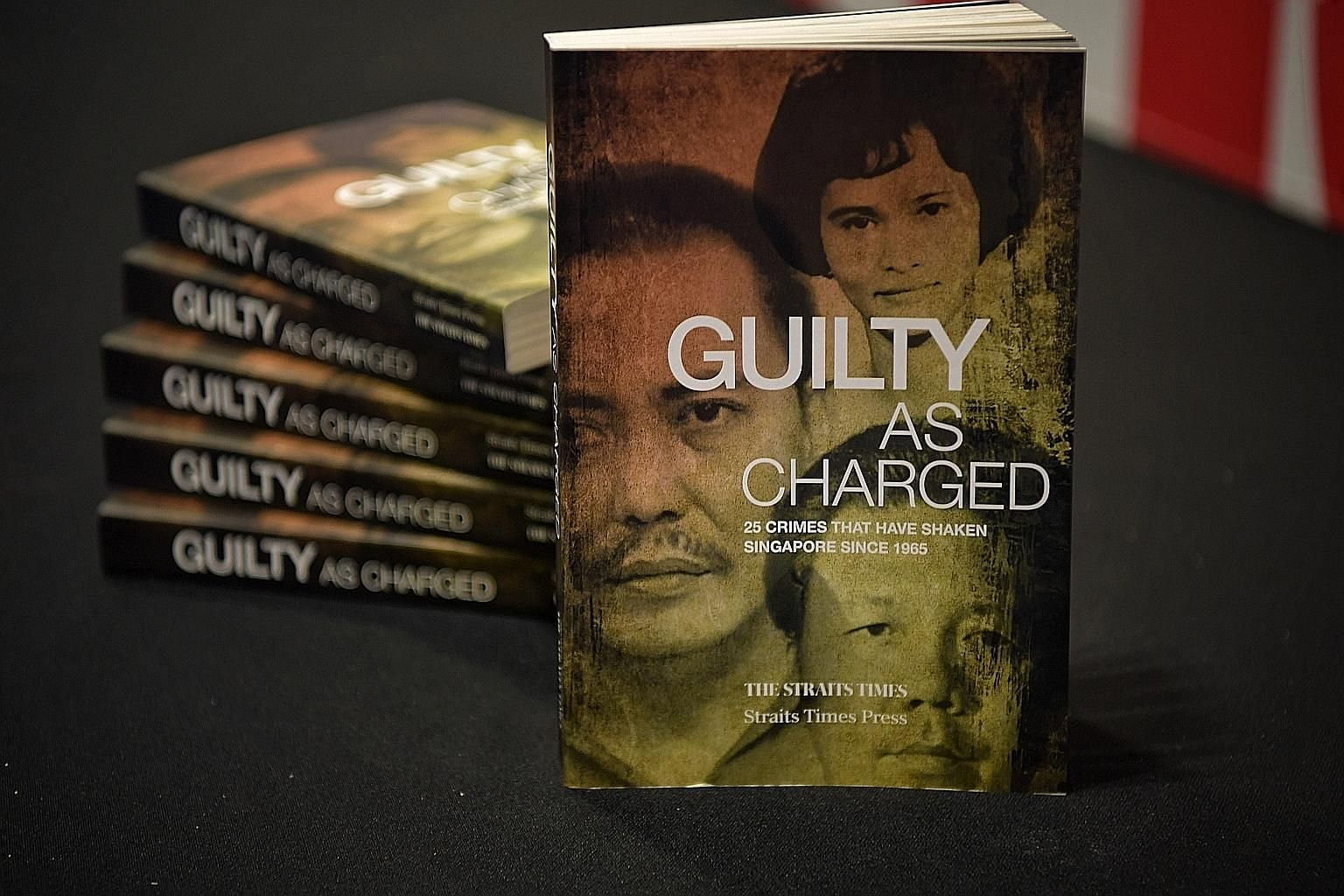 Guilty As Charged, edited by ST associate news editor Abdul Hafiz (above, left), and Singapore, Disrupted by ST Opinion editor Chua Mui Hoong won the first prize and third respectively in the English (adult) category at the Popular Readers' Choice Aw