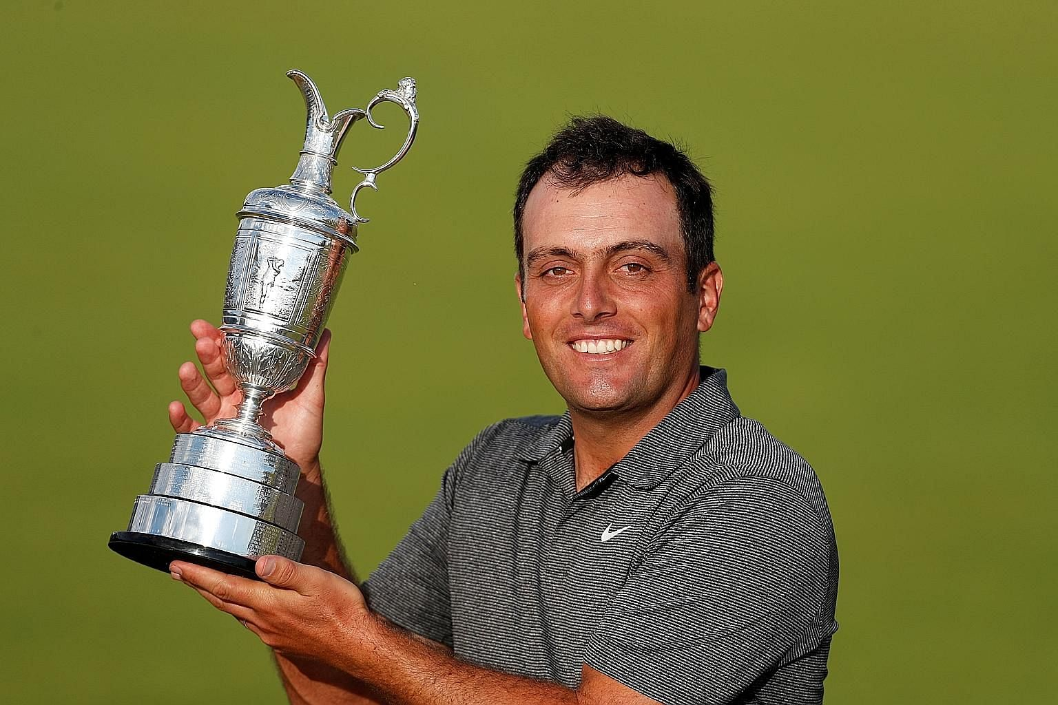 Francesco Molinari became the first Italian to win a golf Major when he triumphed at the 147th Open Championship in July this year.