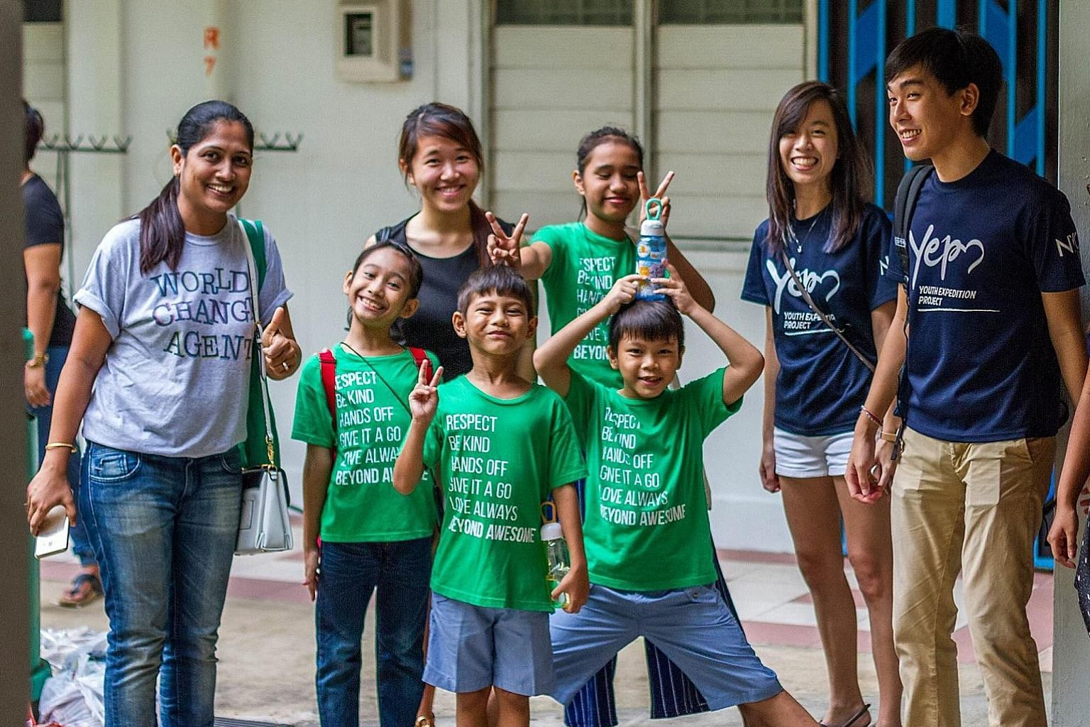 Beyond Awesome volunteers are cheerleaders to the at-risk and underprivileged children who attend the programme, says founder Emily Teng.