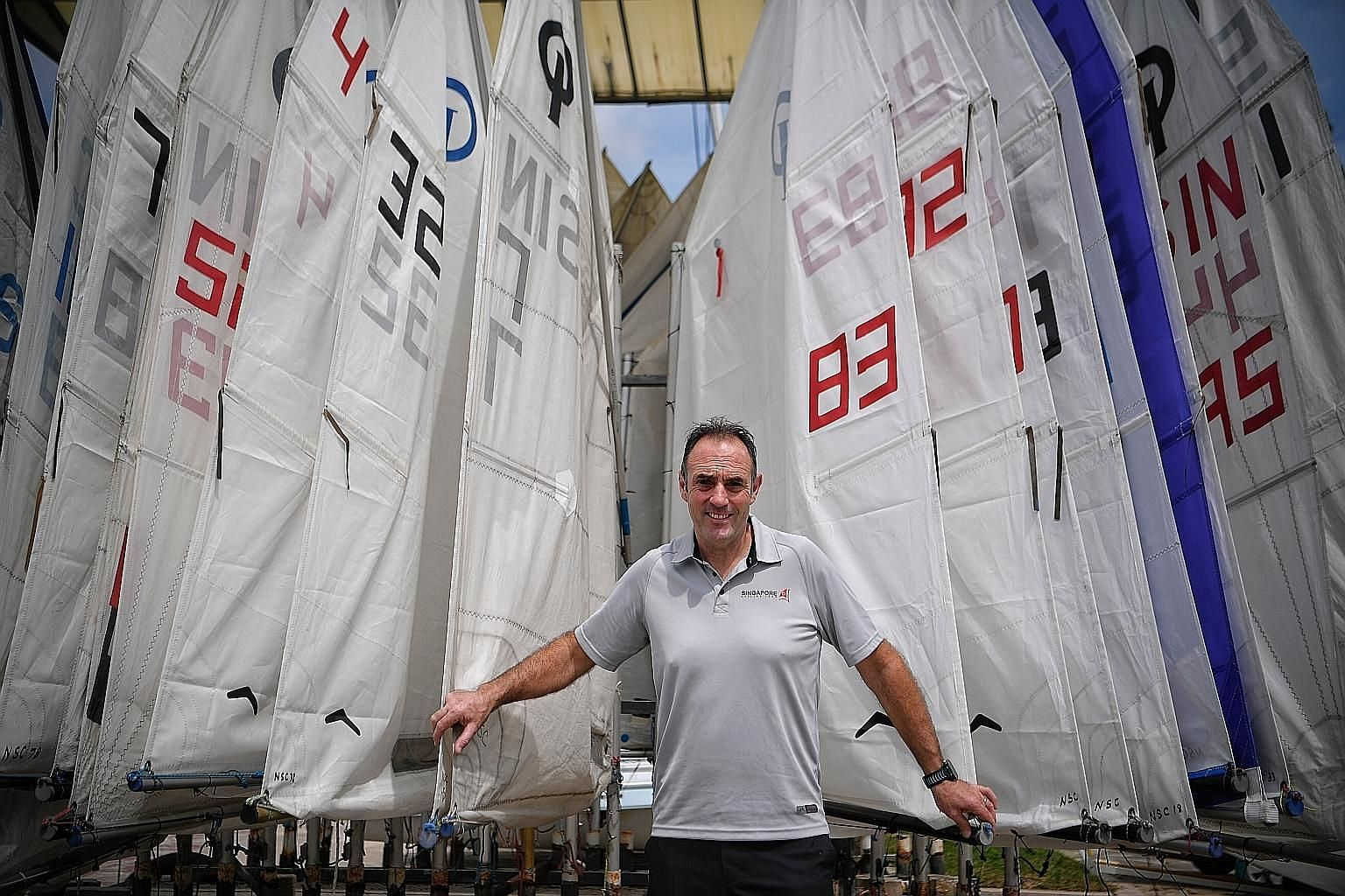 Mr Peter Cunningham was with the British sailing team at three Olympics, during which they topped the medal tally.