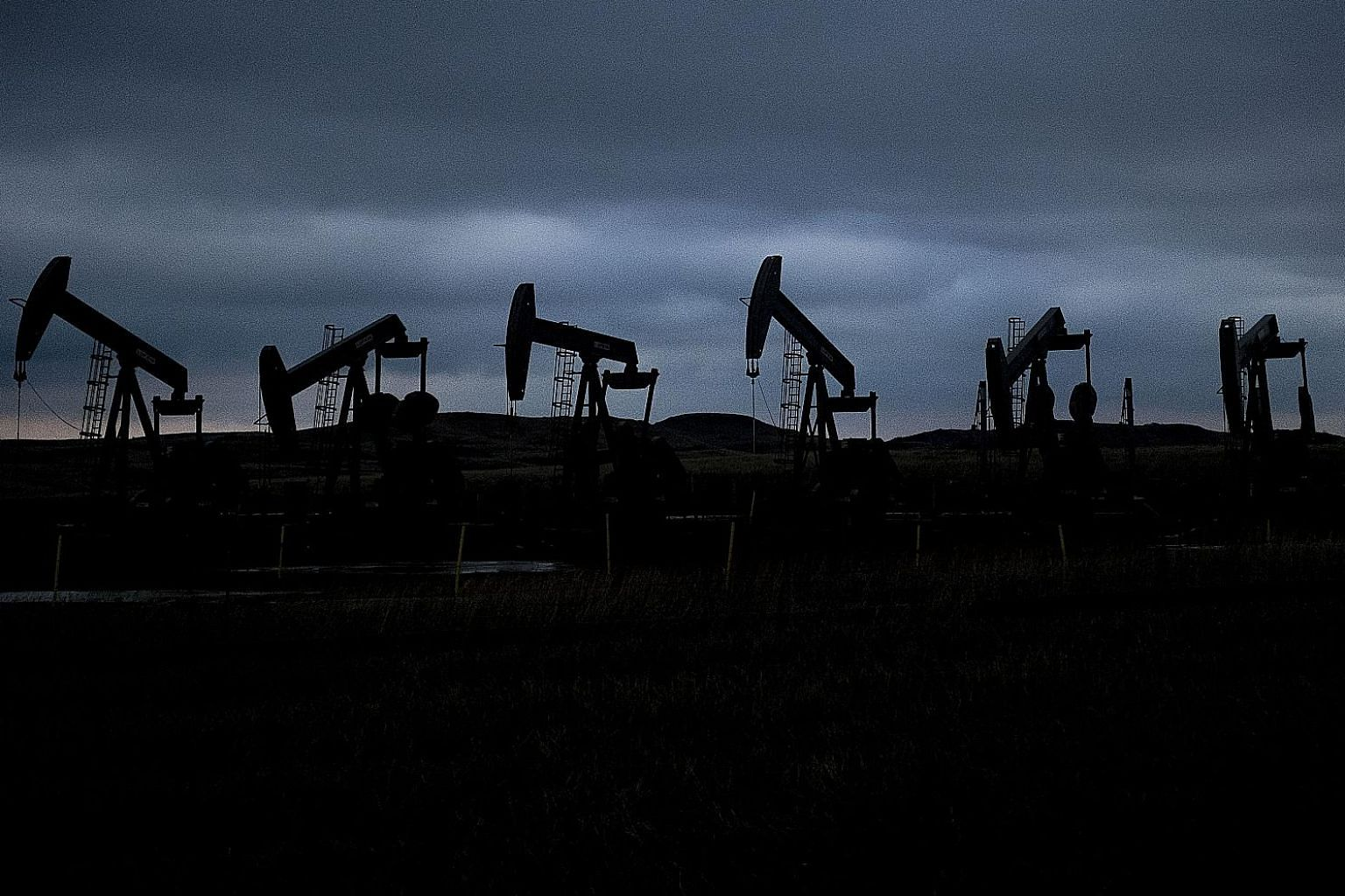 The median forecast from 24 oil analysts polled by Bloomberg projects London-traded Brent will average exactly US$70 a barrel next year. Thursday's price was about US$53.50, and this year's average has been about US$72 so far.