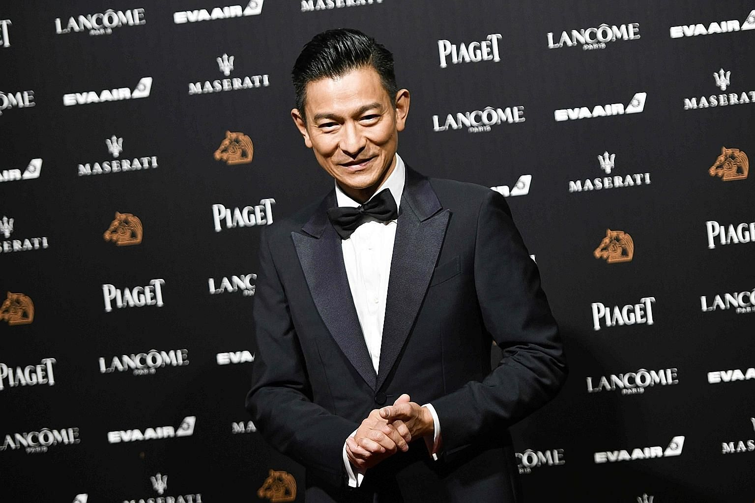 Andy Lau was midway through a song last Friday when he stopped abruptly.