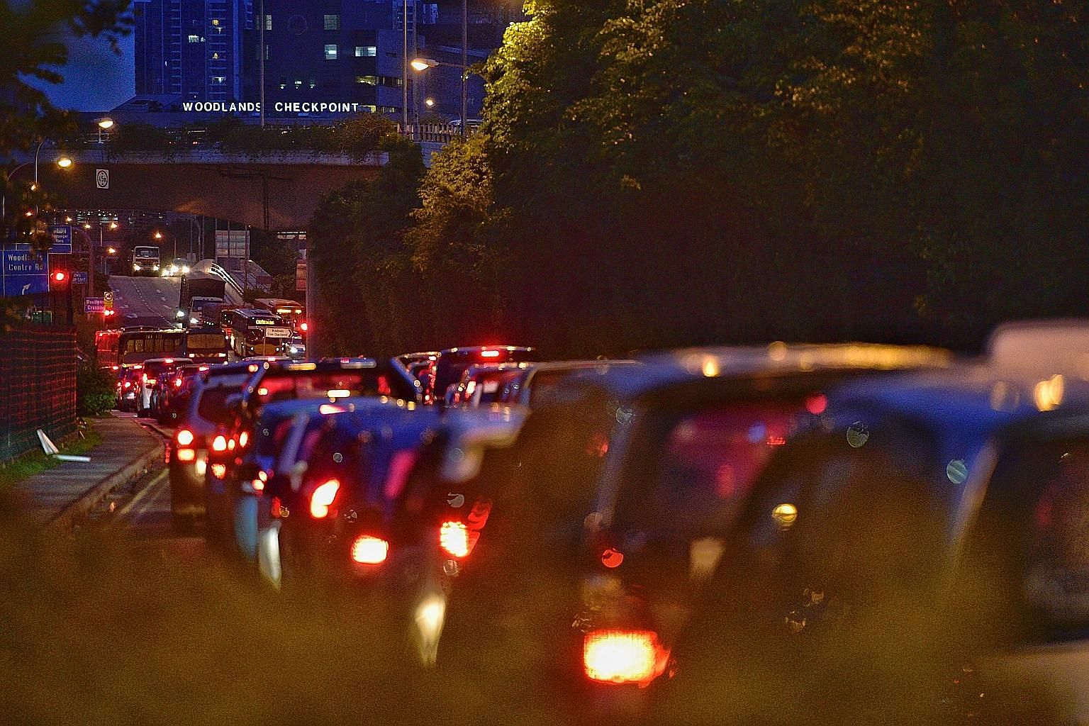Diesel-powered Singapore vehicles leaving via the land checkpoints will be required to have at least three-quarters of their tanks filled. Drivers who do not comply could face a composition fine of up to $500, or be prosecuted in court.