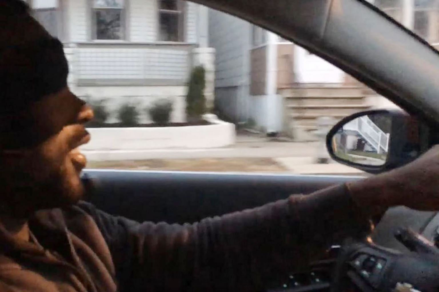 A man driving blindfolded for the Bird Box challenge. Netflix has warned fans against participating in the potentially dangerous online challenge inspired by its recent horror film, where survivors of a post-apocalyptic America must wear blindfolds t