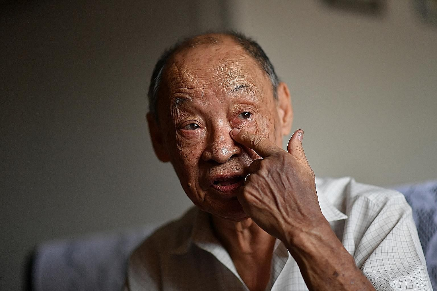 Mr Seow Ban Yam's subsidised bill for surgery to unblock the flow of his tears came to $4,477, but MediShield Life covered only $4.50.