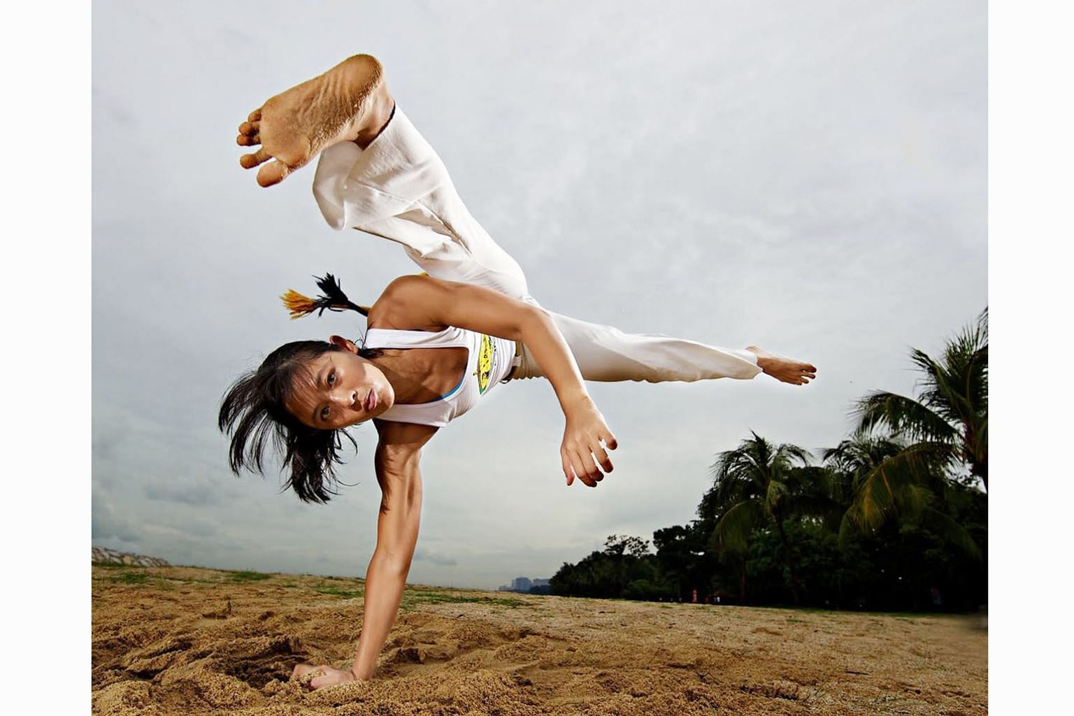 Former national swimmer May Ooi had set herself two targets when she got a contract with One Championship in mid-2017 - to compete in the mixed martial arts organisation's events and to represent Singapore in jiu-jitsu at the Asian Games. She achieve