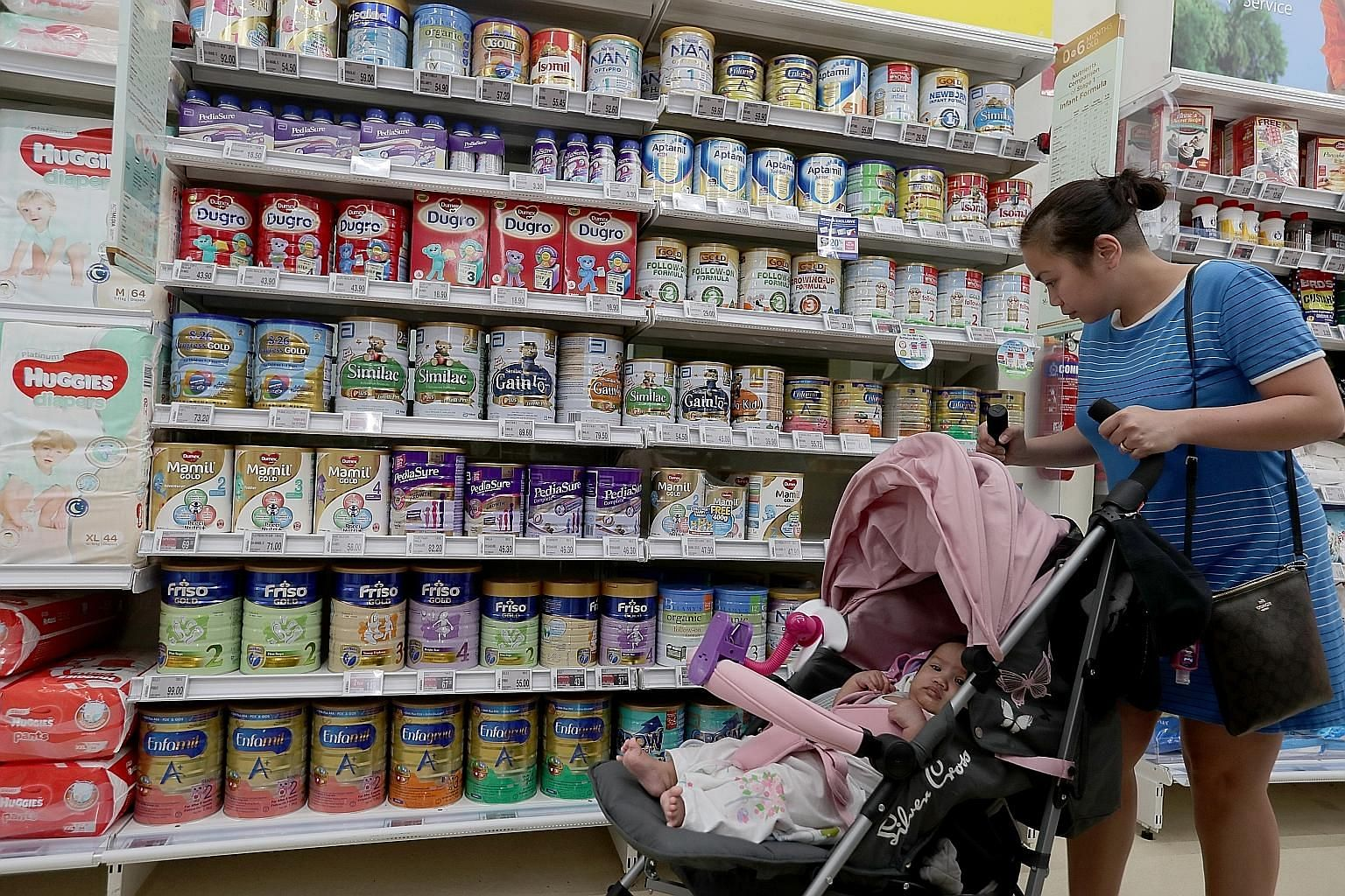 The review of guidelines that govern the sale of infant foods in Singapore comes two years after the rising prices of formula milk prompted the formation of a government task force to tackle the issue.