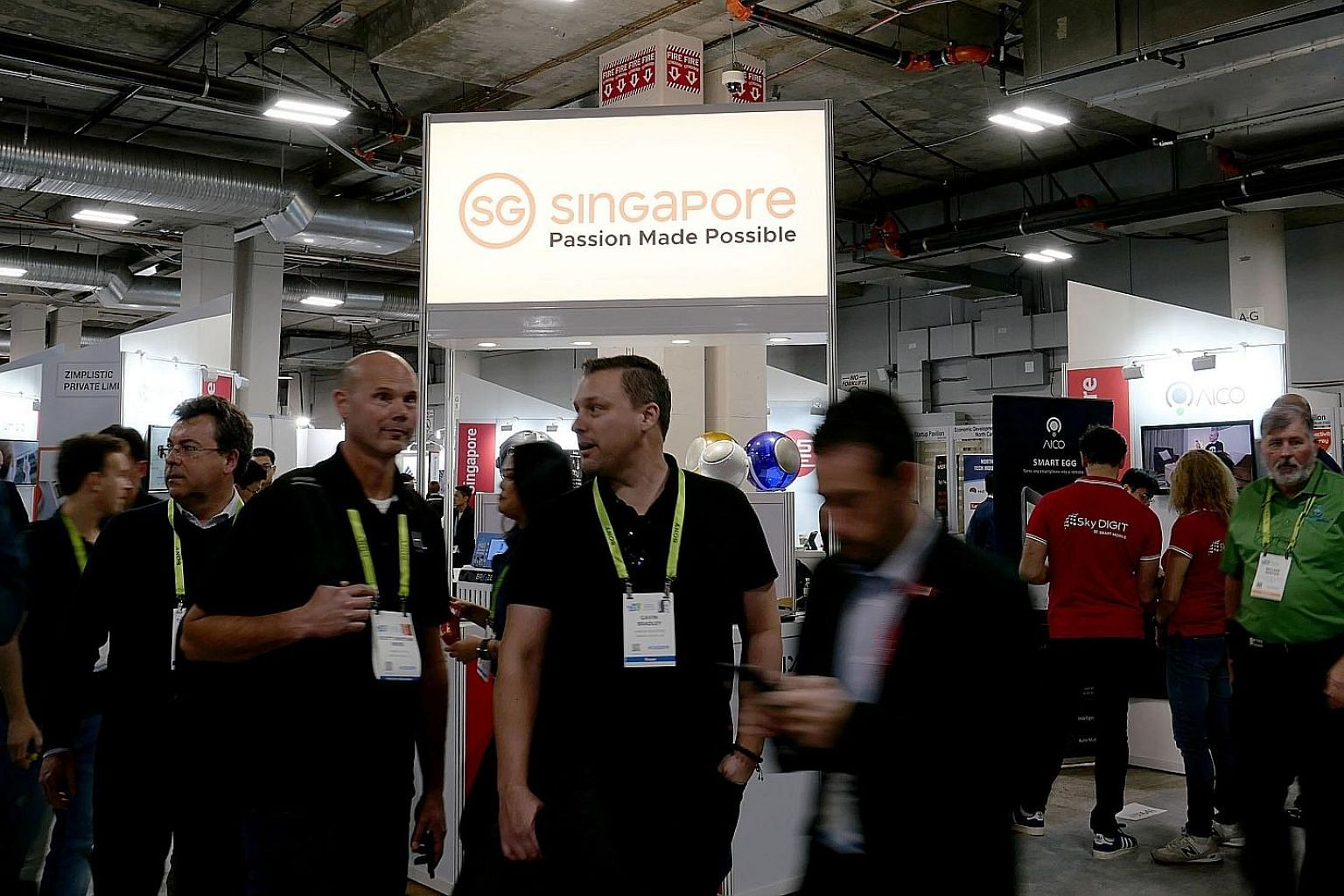 Nine Singapore start-ups showcased their products at the Singapore Pavilion at CES 2019 located in Eureka Park, a place for start-ups to get funding and partnerships. The start-ups there have to meet requirements such as being a first-time exhibitor