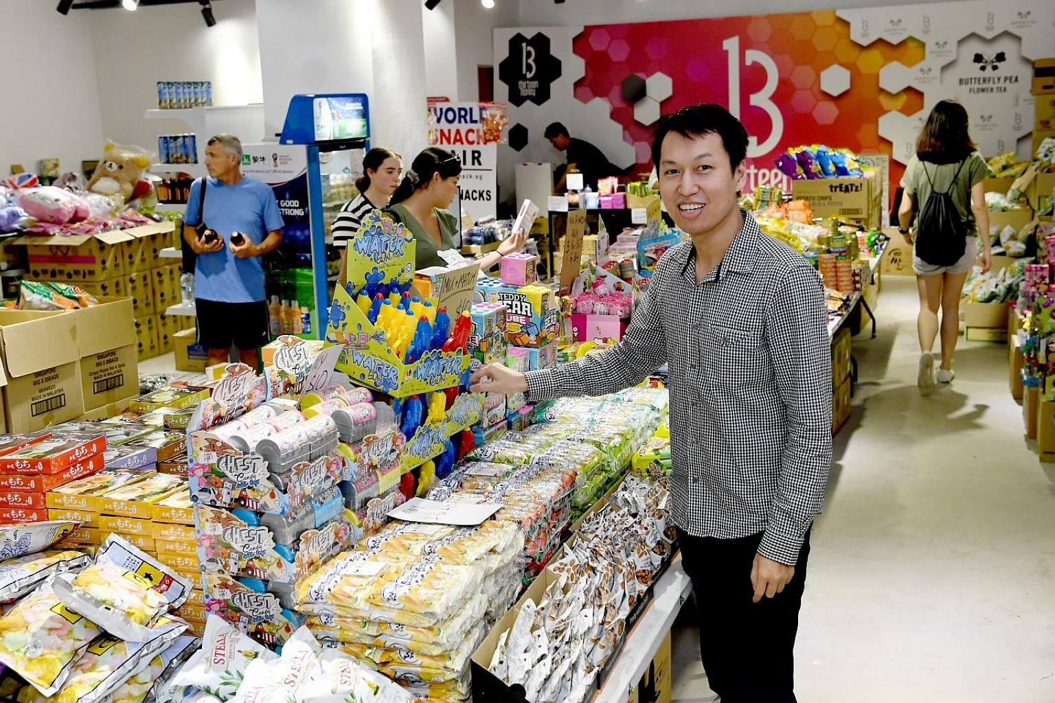 Mr Nelson Ng Hsueh Chin borrowed about $200,000 through Funding Societies to run his business of importing snacks.