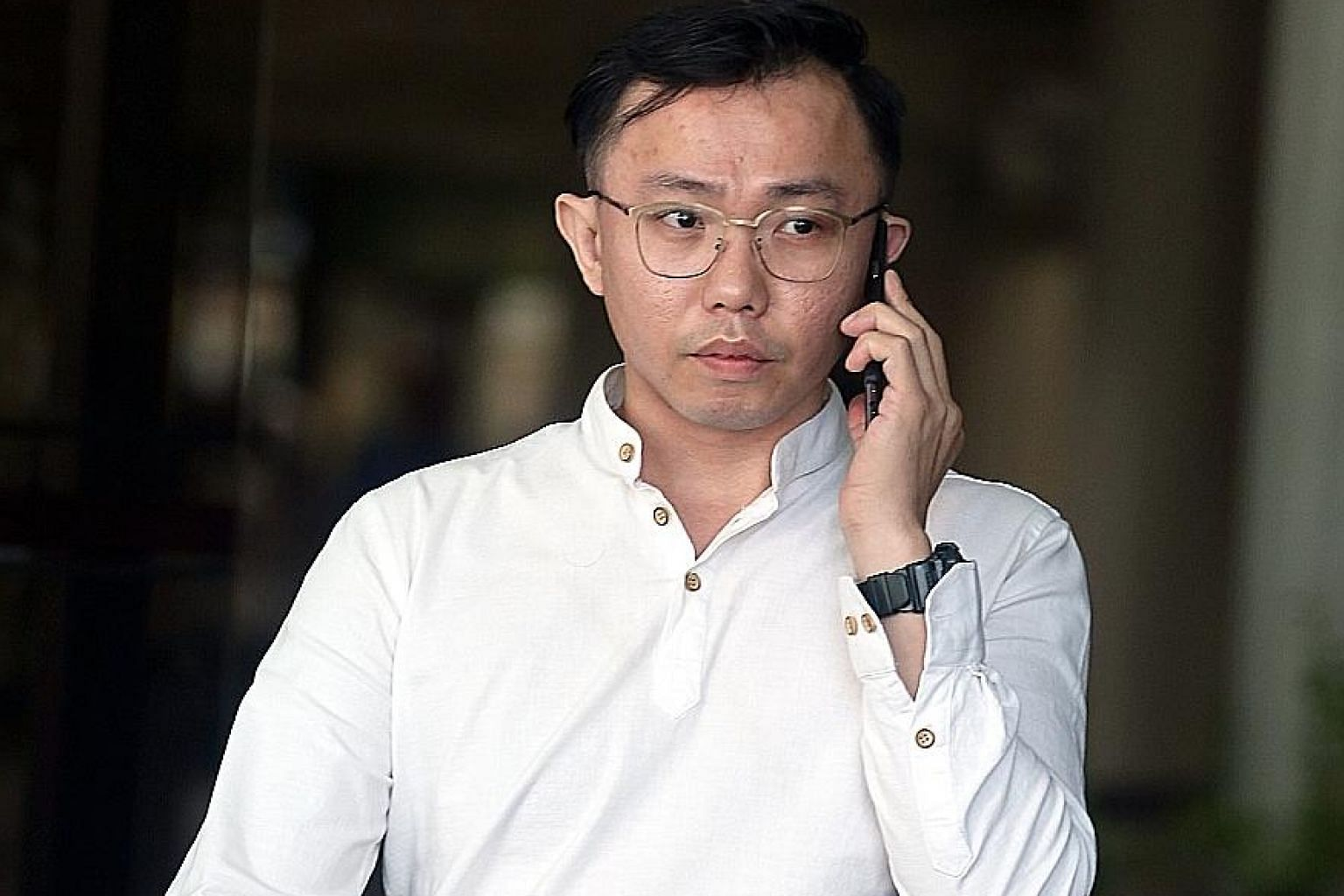 Tan Tong Han, 36, was sentenced yesterday to a week's jail for giving false information to a CPIB officer investigating the flow of funds in and out of Black Tidings.