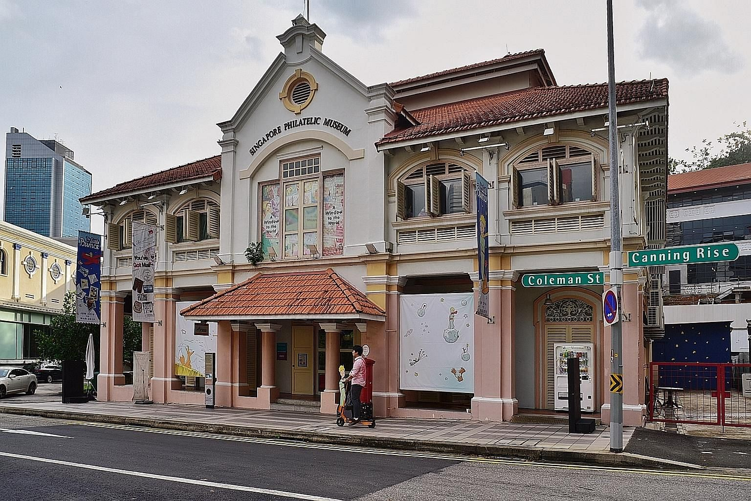 The National Heritage Board said the redevelopment of the Singapore Philatelic Museum (left) and the Peranakan Museum will refresh museum infrastructure, content and offerings to enhance visitors' experience.