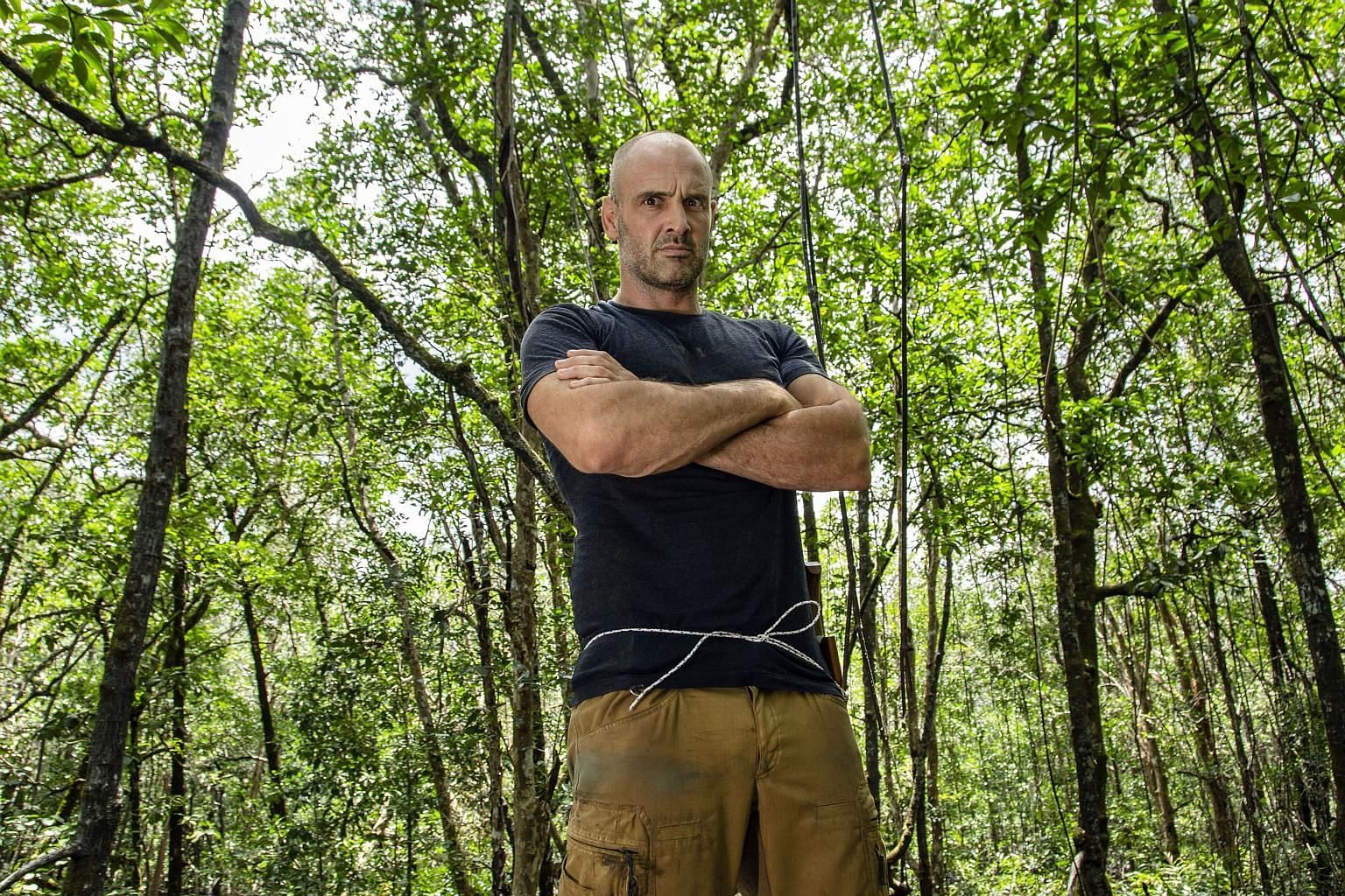 First Man Out pits British explorer Ed Stafford against other adventurers and survivalists to see who can get out of some of the most hostile environments on the planet first.