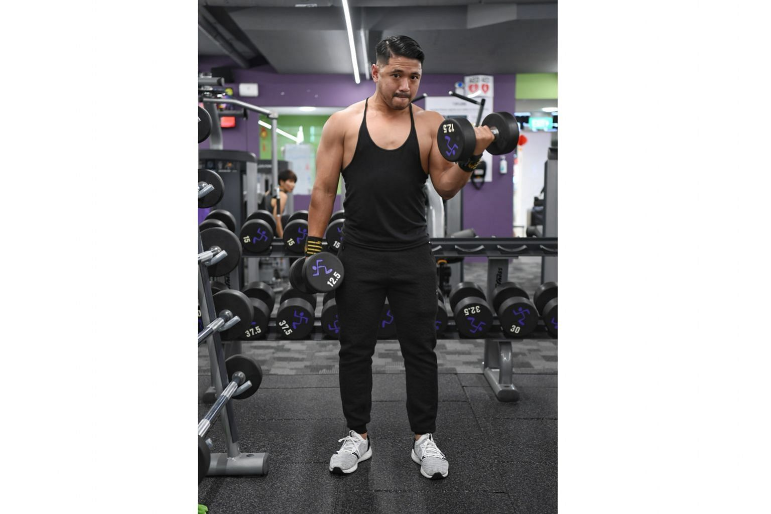Mr Muhammad Subhi Ismani says his fitness routine boosts his self-confidence and keeps him alert at work.