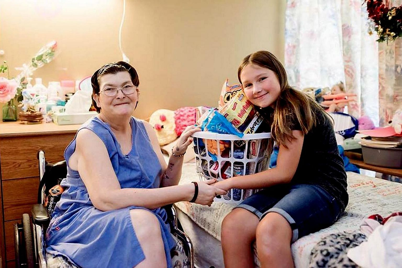 """Ruby Kate Chitsey of Arkansas in the US started a project and Facebook page called """"Three Wishes for Ruby's Residents"""" to do simple things to bring joy to nursing home residents. Over the last two months, she has raised over US$72,000 (S$97,000) to p"""