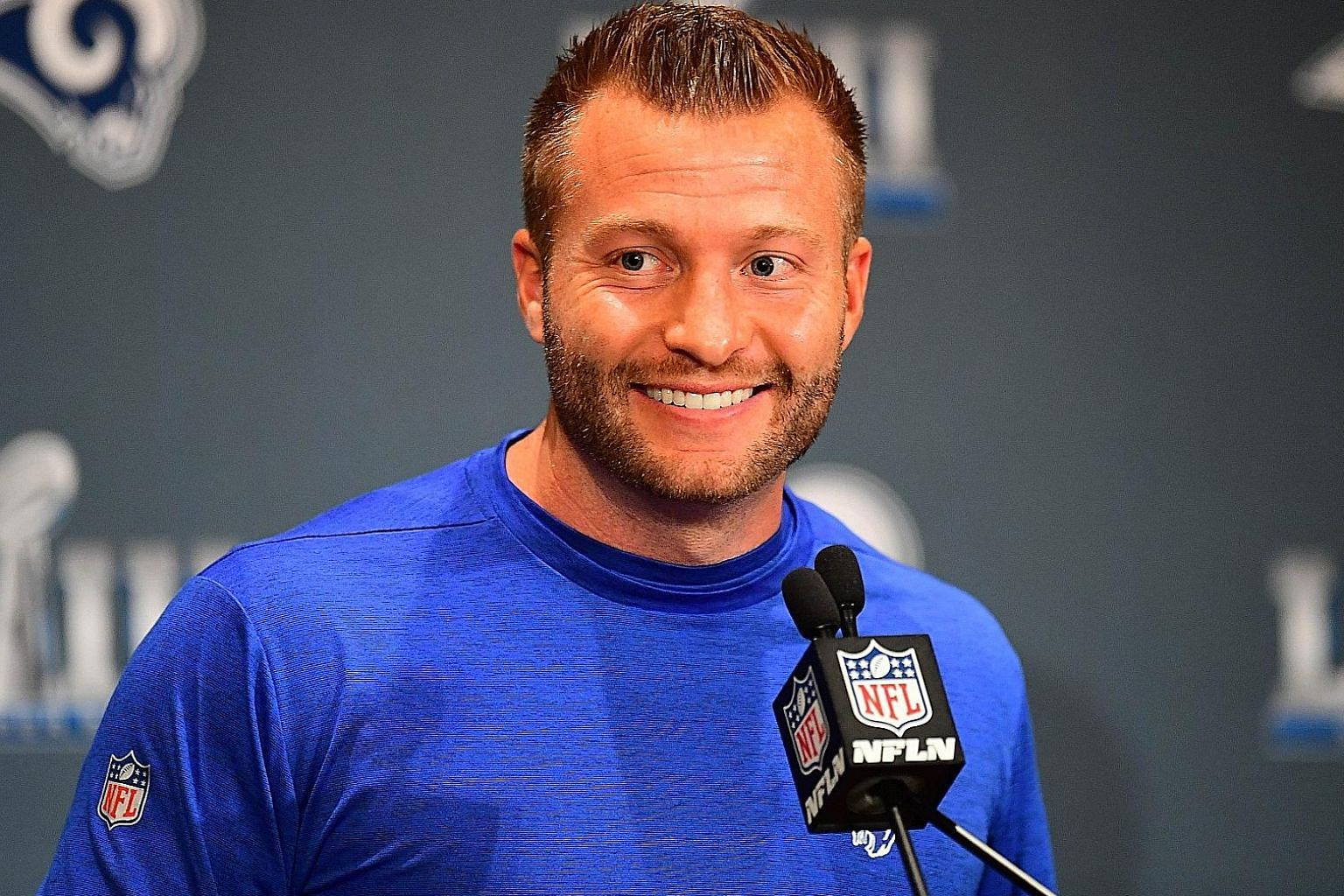 Sean McVay is the youngest head coach in a Super Bowl while Bill Belichick wants to be the oldest winner.