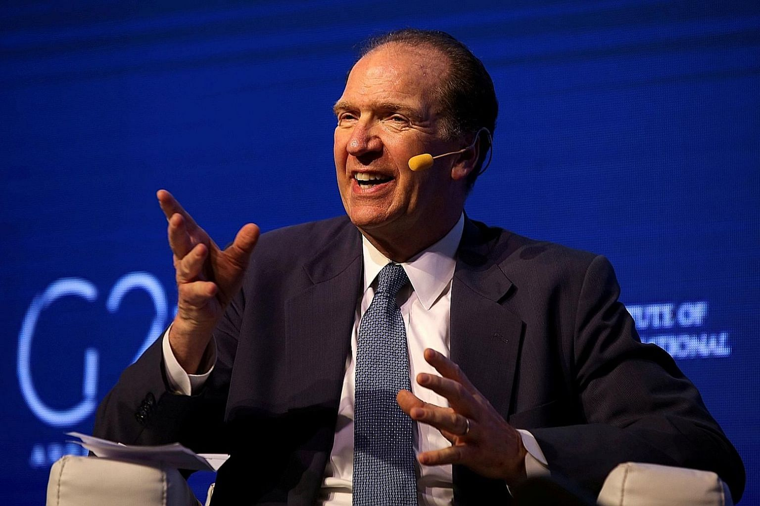 """Mr David Malpass has been openly critical of both the World Bank and International Monetary Fund, saying there was """"a lot of room for improvement"""" in the bank's lending programmes."""