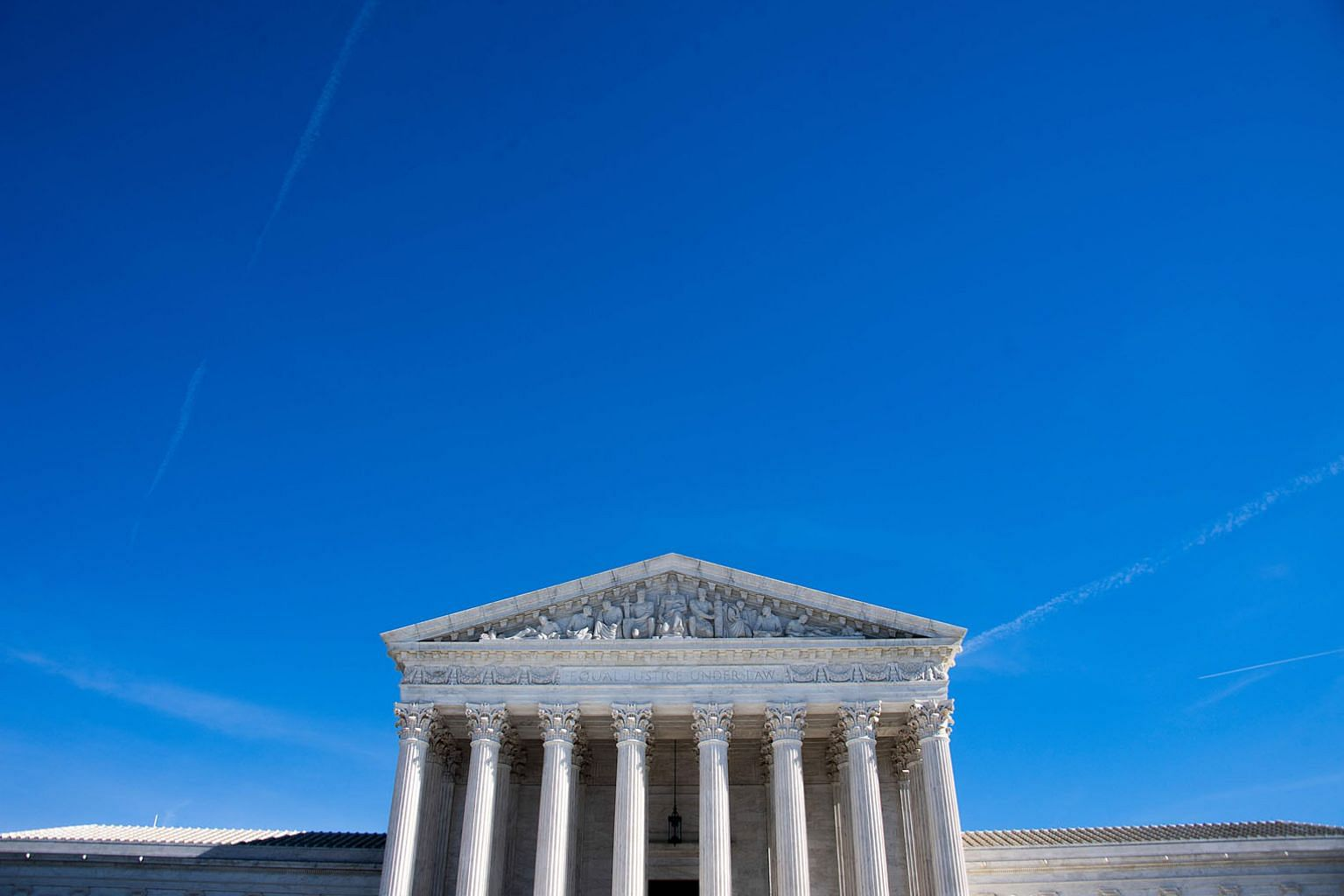 The US Supreme Court in Washington, DC. Under the common law system in the United States, Britain and several other countries, the validity of legal arguments depends heavily on precedent. Legal analytics companies have been used in certain cases to