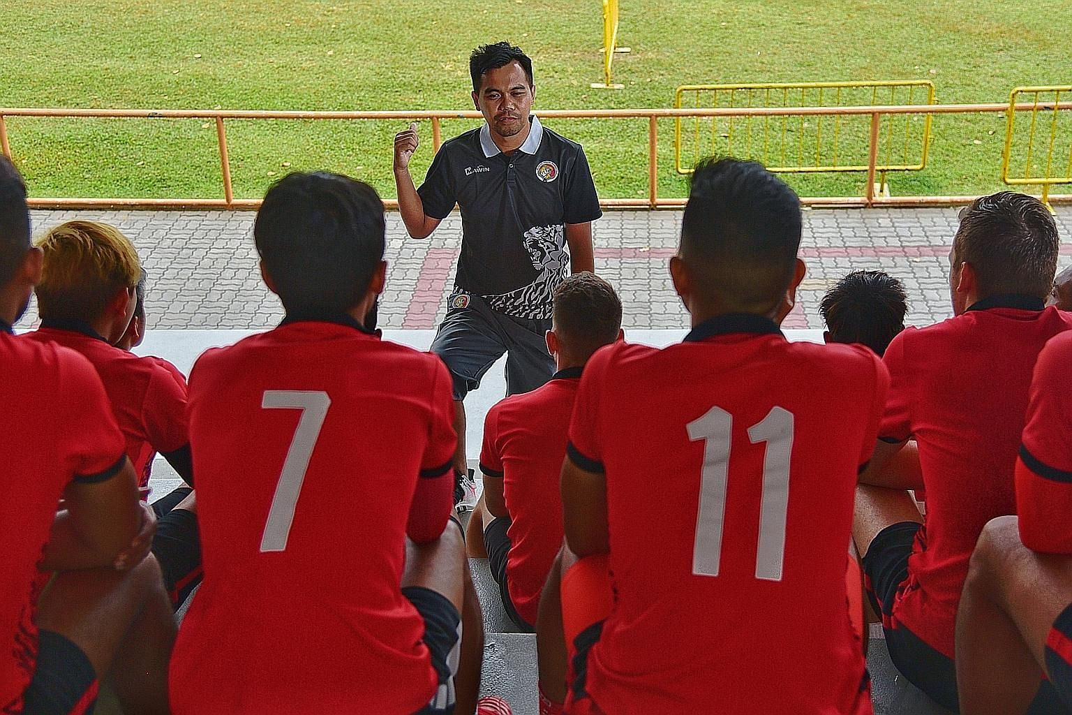 New Balestier Khalsa coach Khidhir Khamis was selected from eight candidates, half of them foreigners, who applied for the post. He is the youngest head coach in 24 years of professional club football in Singapore.