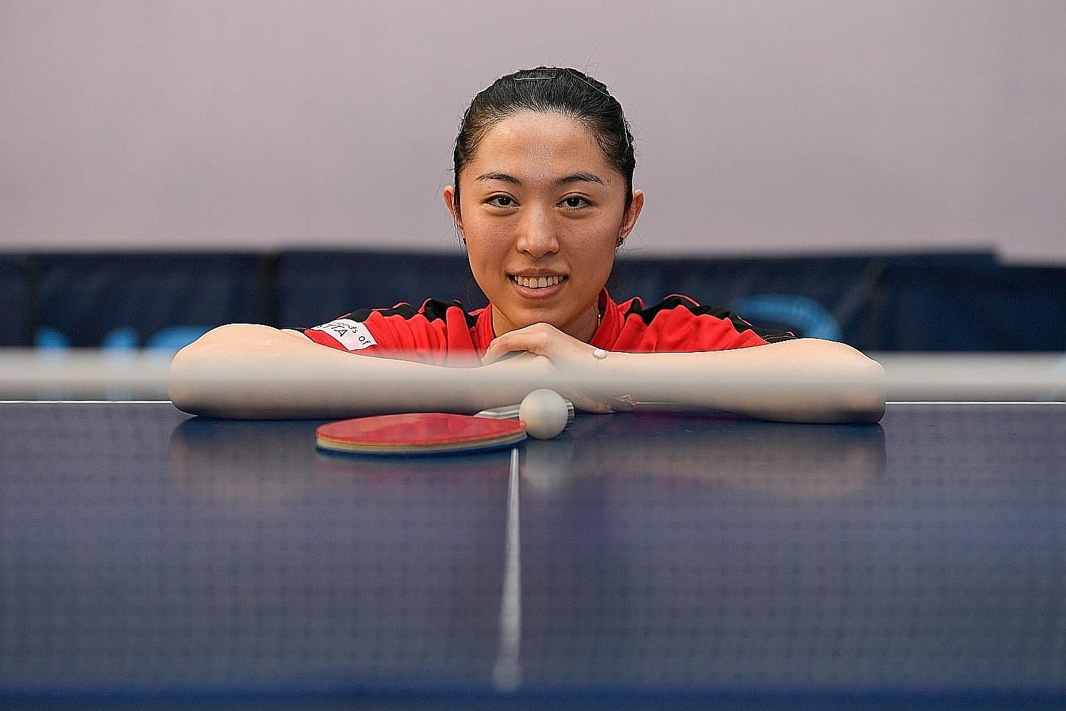 Yu Mengyu's goal is to win a medal at next year's Tokyo Olympics, having lost in the singles quarter-finals at Rio 2016.