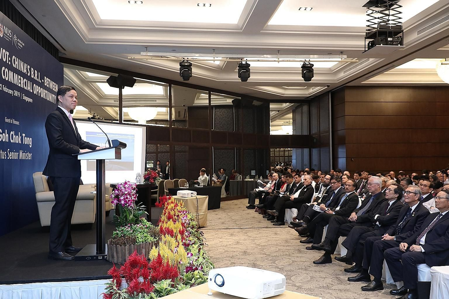 """The well-being of both states and students depends ultimately on the individual and is not a function of size, says Education Minister Ong Ye Kung. Asean should do all it can to be a """"neutral place where people from elsewhere can come and be engaged"""