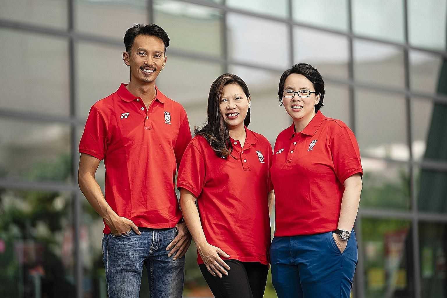 Juliana Seow (centre) will be the Singapore contingent's chef de mission for the Philippines SEA Games. Chung Pei Ming and Valerie Teo will assist her.